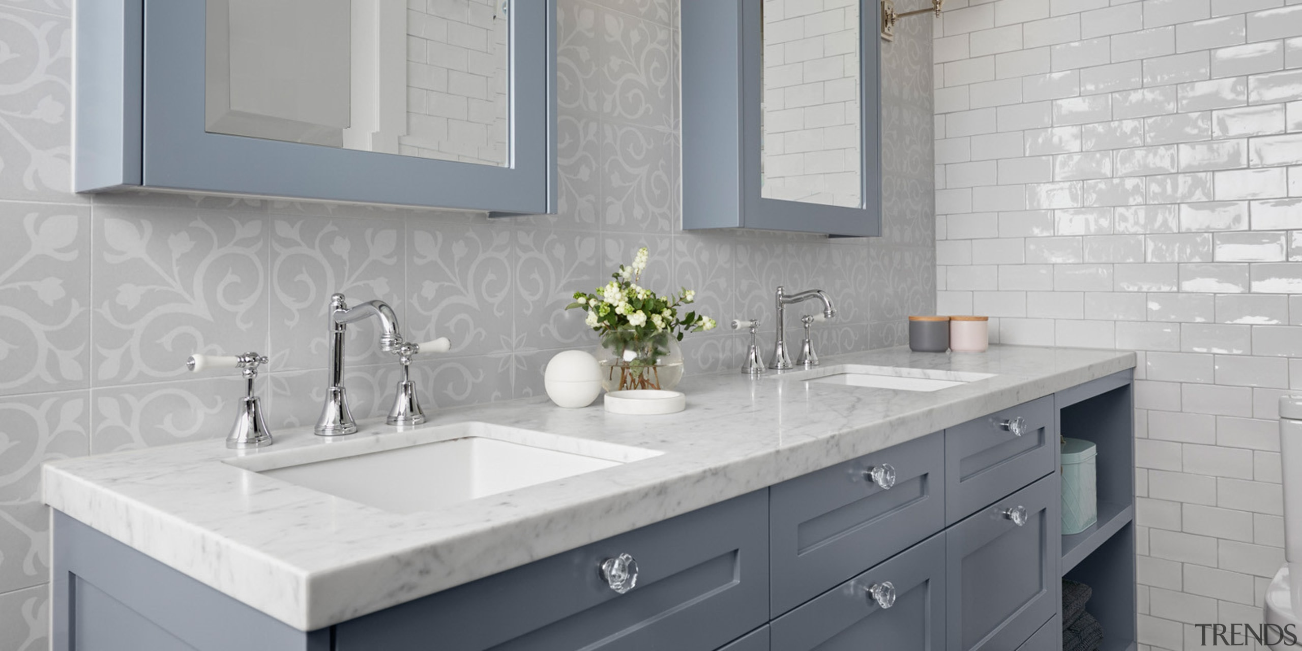 There are many pitfalls to avoid when creating bathroom, bathroom accessory, bathroom cabinet, countertop, floor, flooring, granite, home, interior design, kitchen, room, sink, tap, tile, wall, gray
