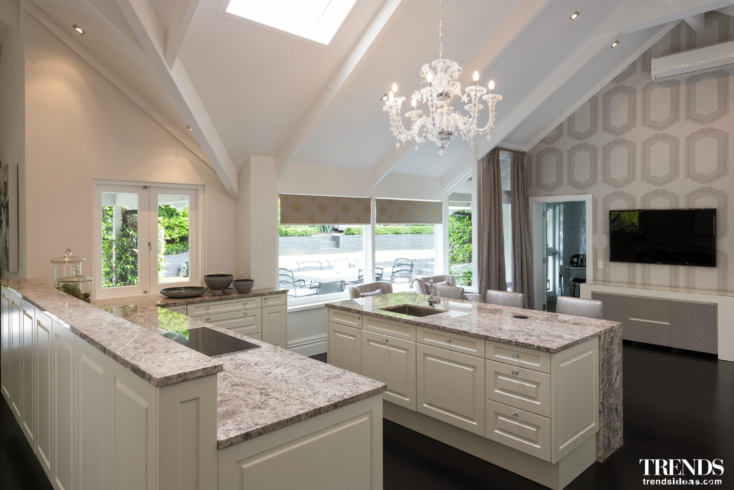 Shortlisted Entry Poggenpohl Akzente Limited2 - ceiling | ceiling, countertop, cuisine classique, daylighting, estate, home, interior design, kitchen, real estate, window, gray