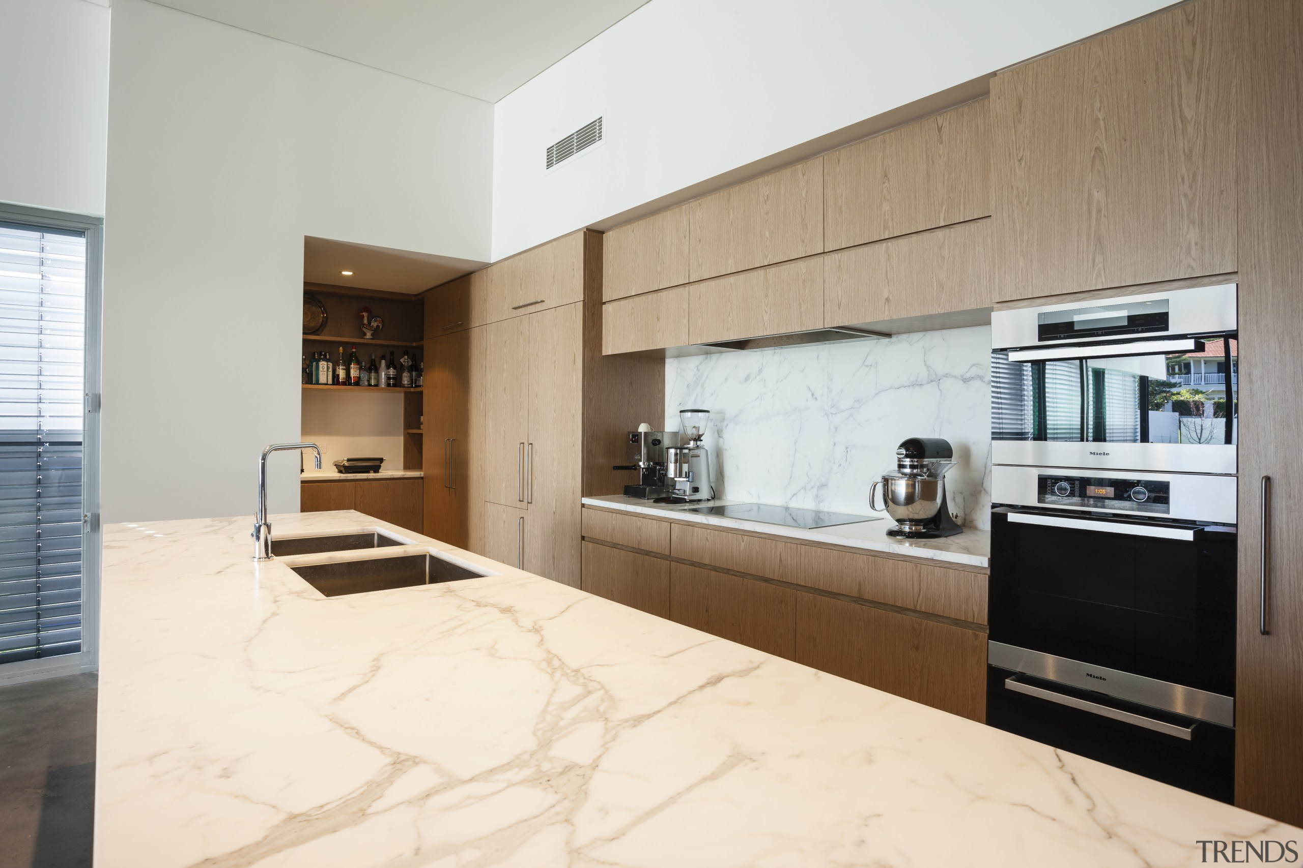 Kitchen area with Oven and sink. - Kitchen cabinetry, countertop, cuisine classique, interior design, kitchen, real estate, white