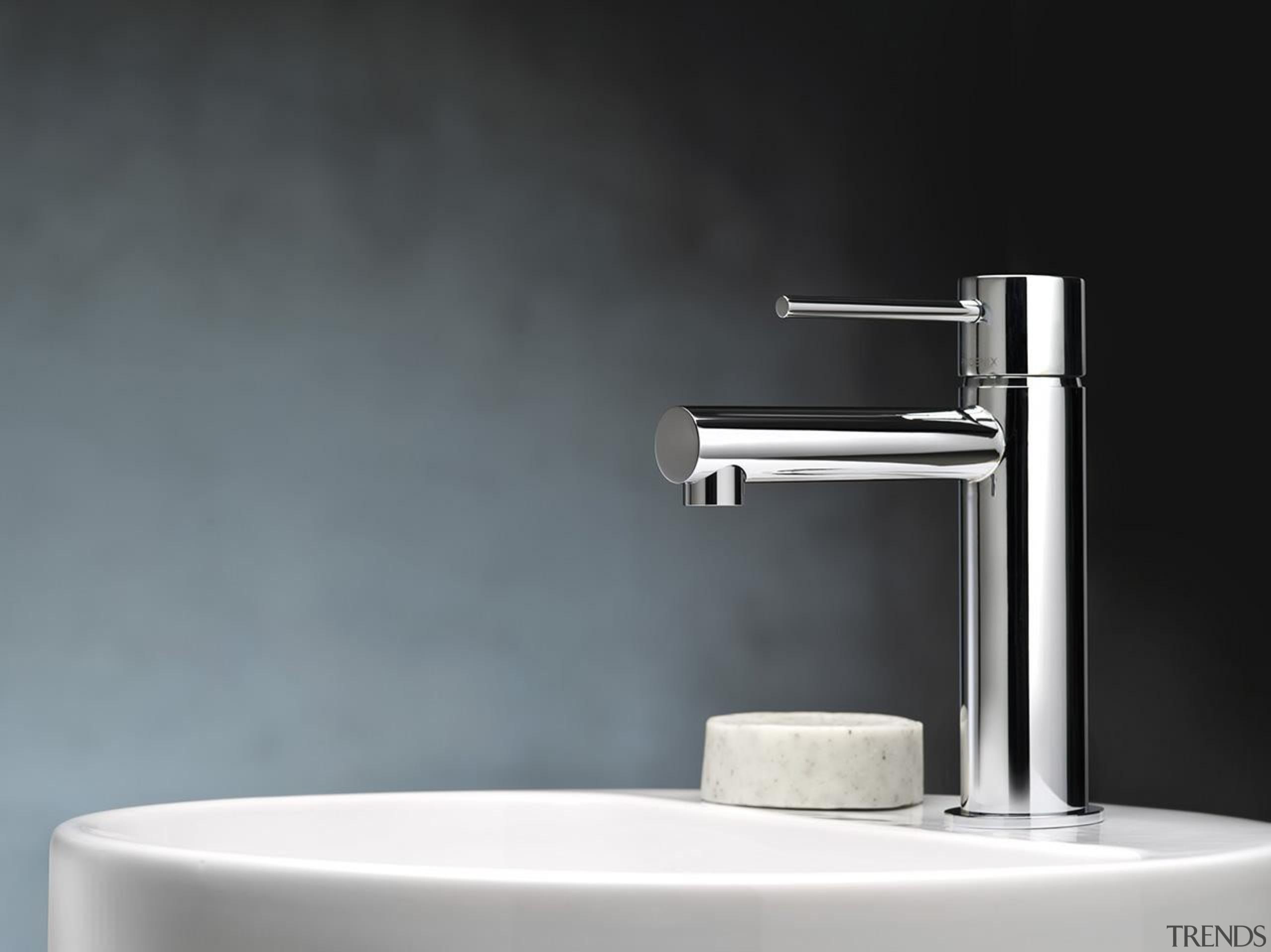 vivid slimline basin mixer - Our Product - bathroom sink, plumbing fixture, product, product design, tap, black, gray
