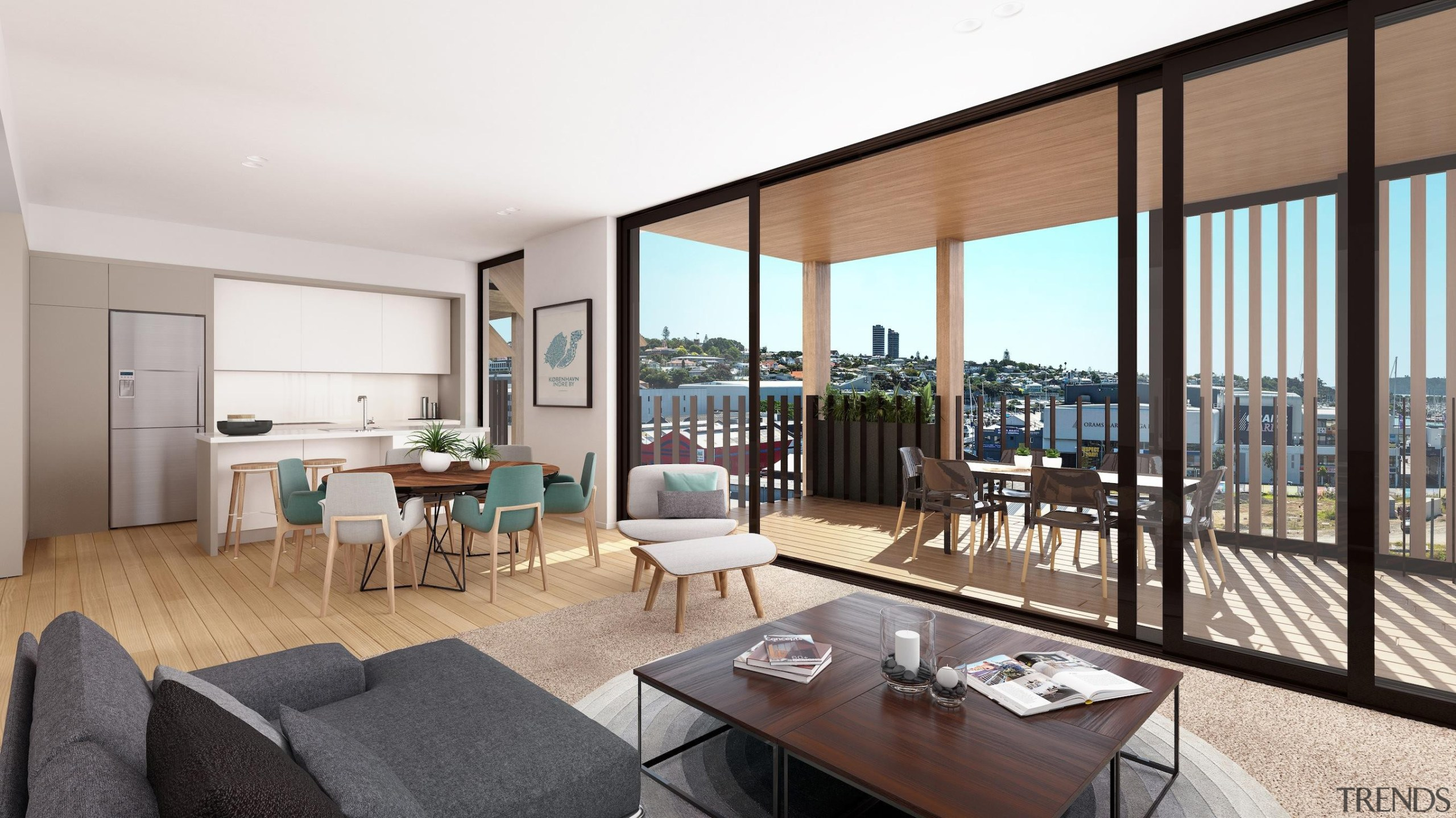 The first stage of Wynyard Central is an apartment, interior design, penthouse apartment, property, real estate, window, white