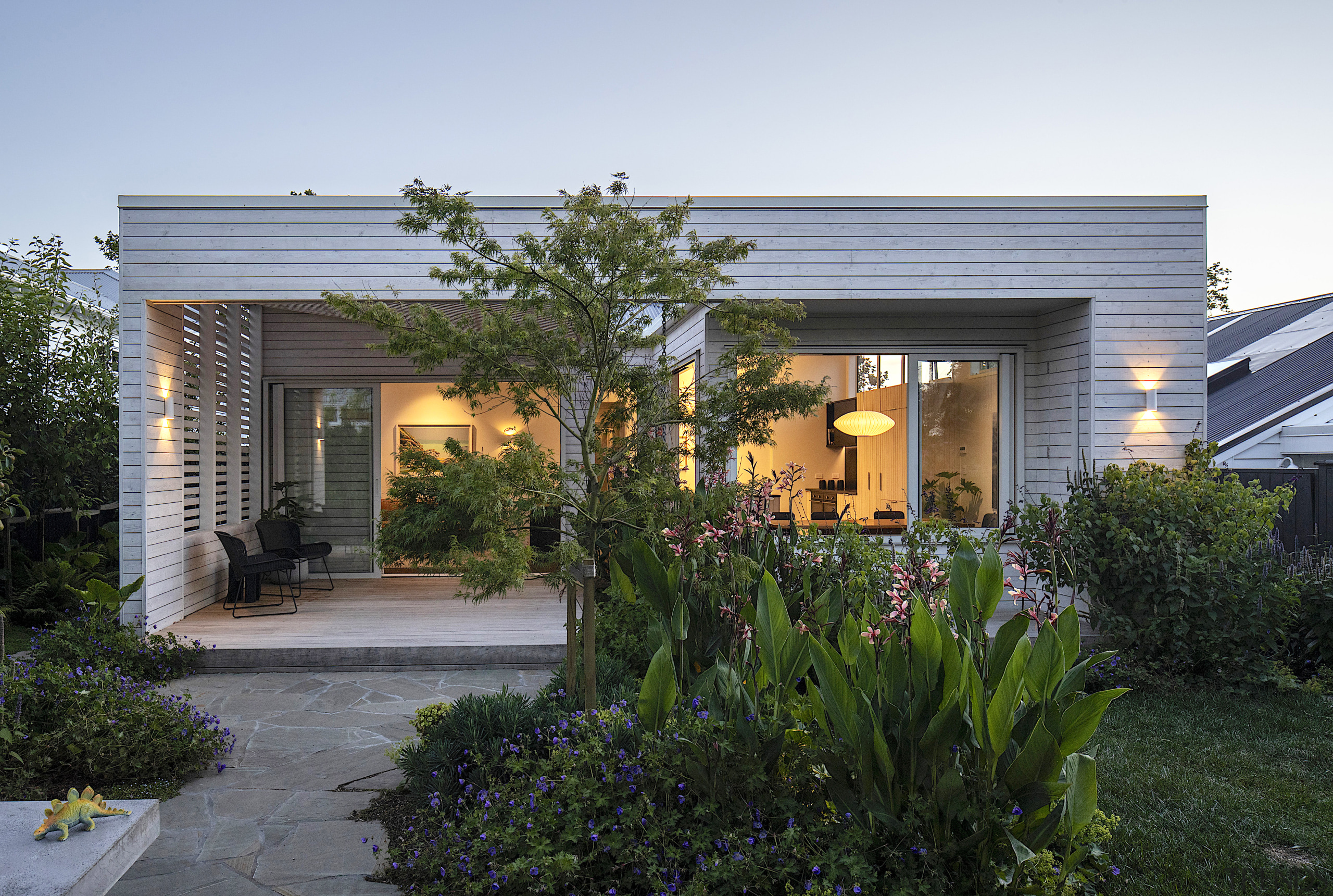 The architects have skilfully converted a traditional villa