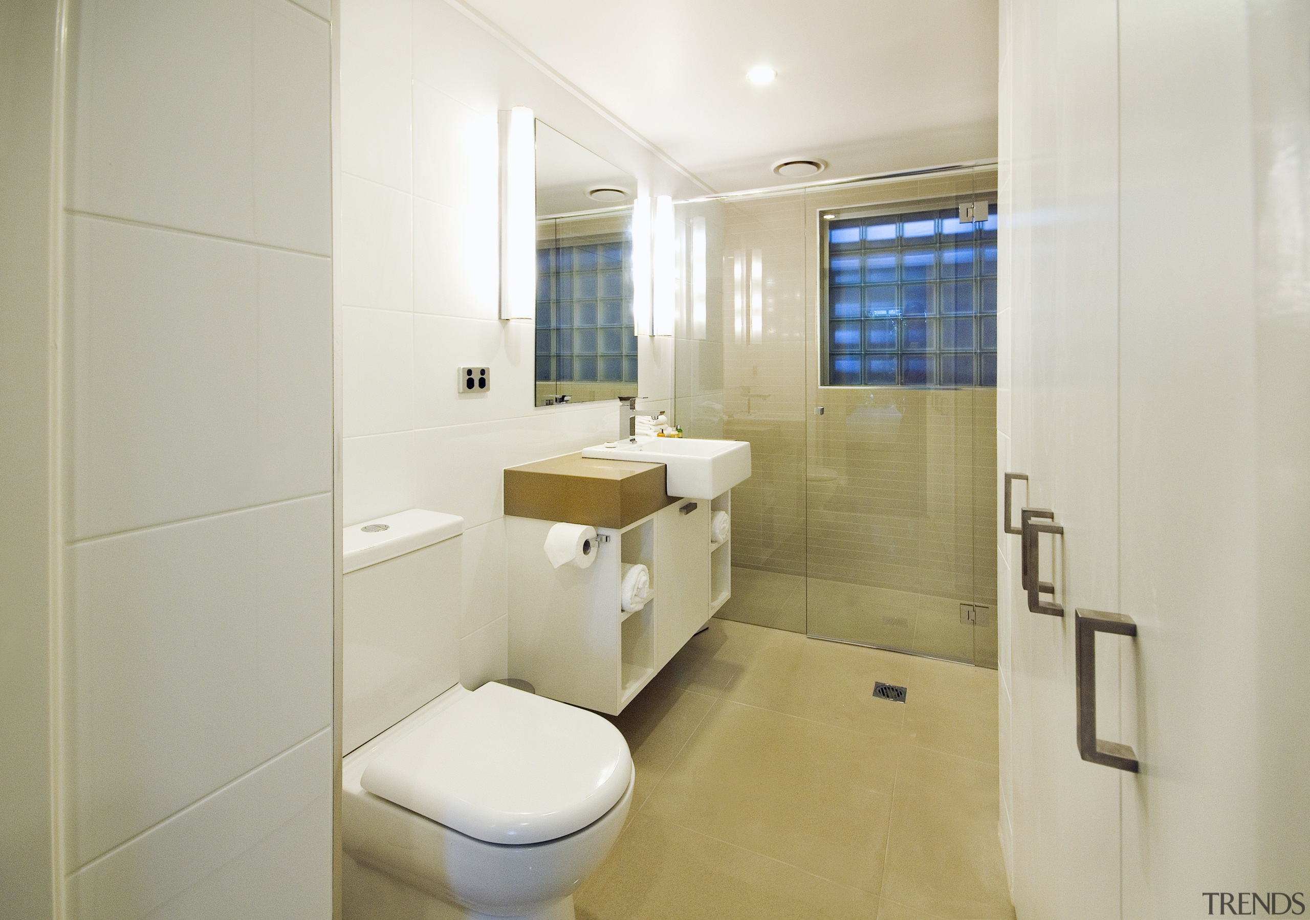 Hotel refurbishment with eco-friendly kitchen and bathroom fixtures bathroom, home, interior design, property, real estate, room, gray