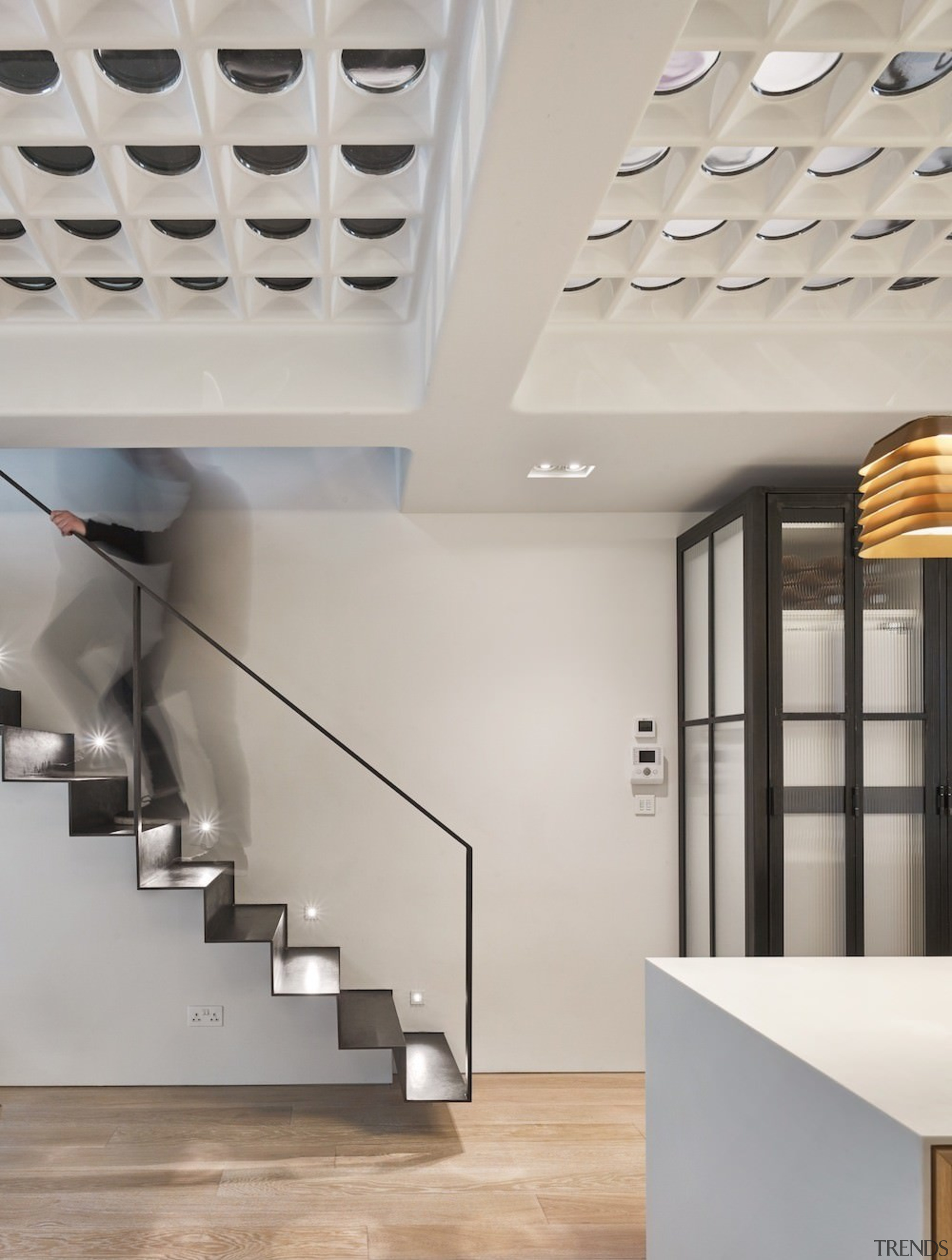 Andy Martin Architecture – Renovation in London - architecture, ceiling, daylighting, interior design, product design, gray