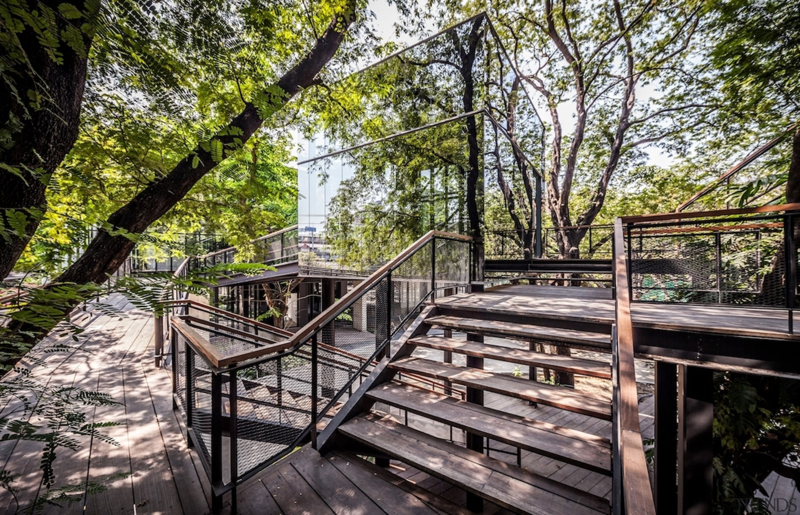 Naiipa 40 - outdoor structure | path | outdoor structure, path, plant, real estate, trail, tree, walkway, gray, black