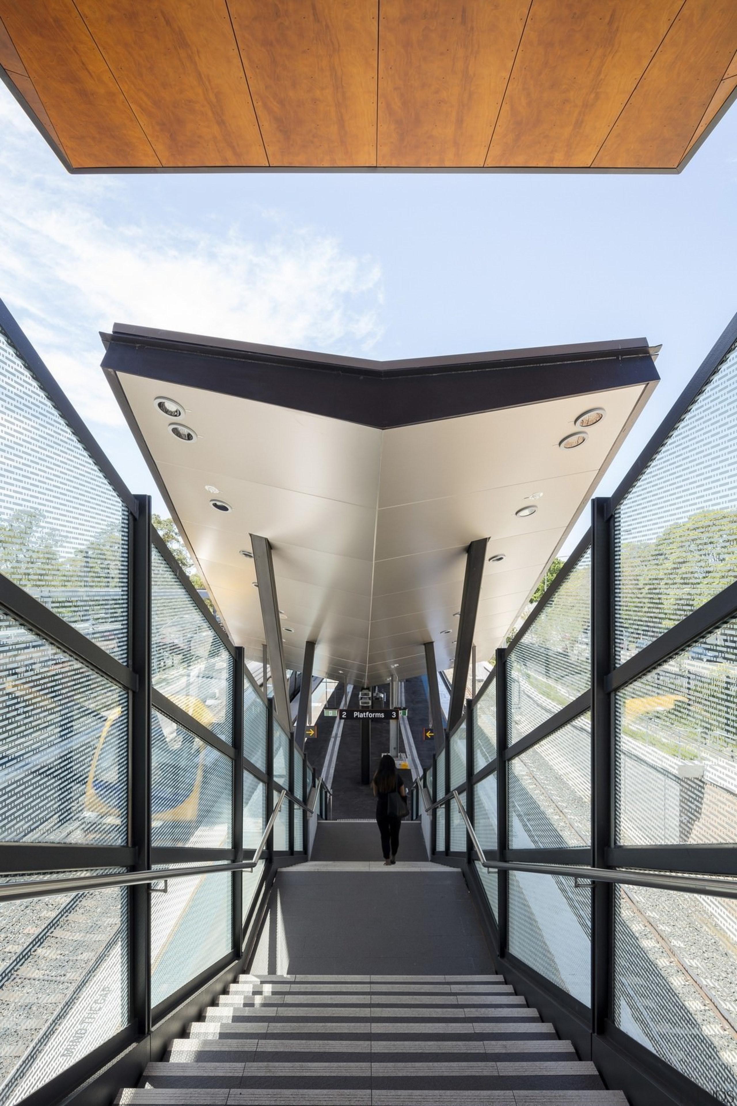 Cheltenham Station – Cox Architecture - Cheltenham Station architecture, building, daylighting, house, white
