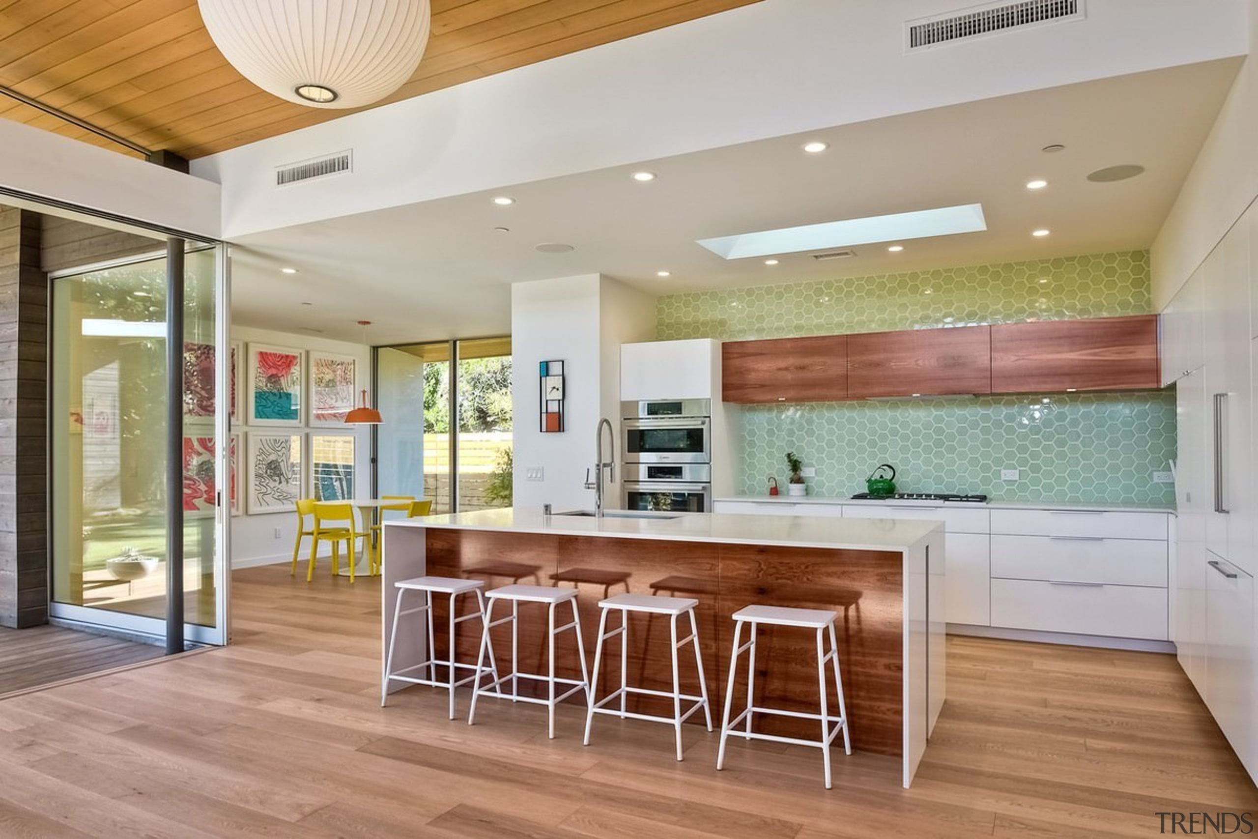 Architect: lloyd russell, aiaPhotography by Darren Bradley ceiling, countertop, floor, flooring, hardwood, house, interior design, kitchen, real estate, wood flooring, gray
