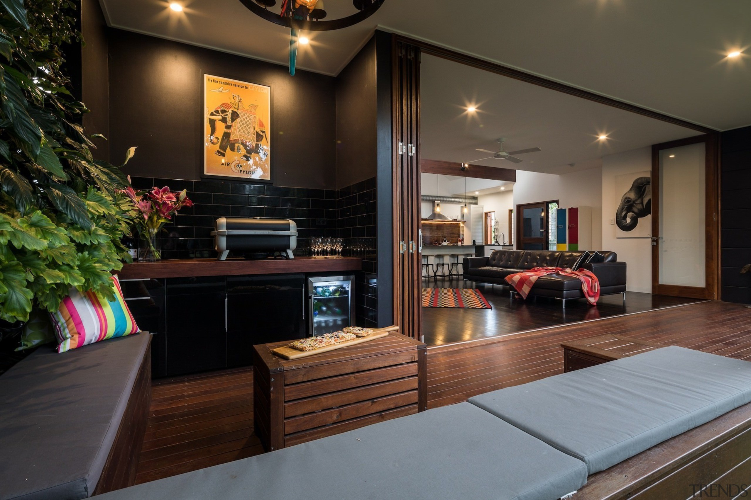 Architect: Blue Giraffe StudioPhotography by md photography interior design, living room, real estate, room, black