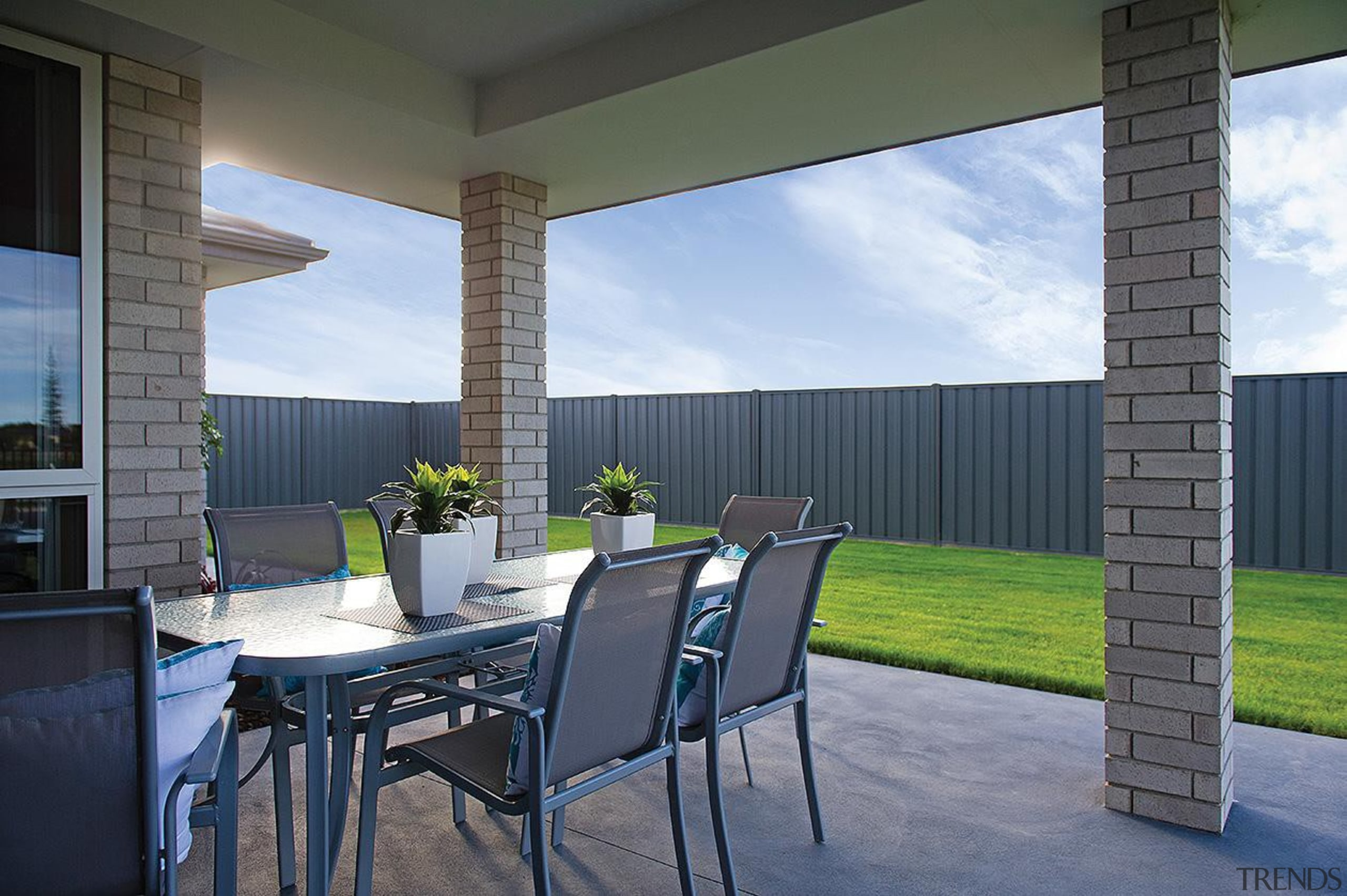 For more information, please visit www.gjgardner.co.nz architecture, backyard, home, house, interior design, property, real estate, shade, window, gray