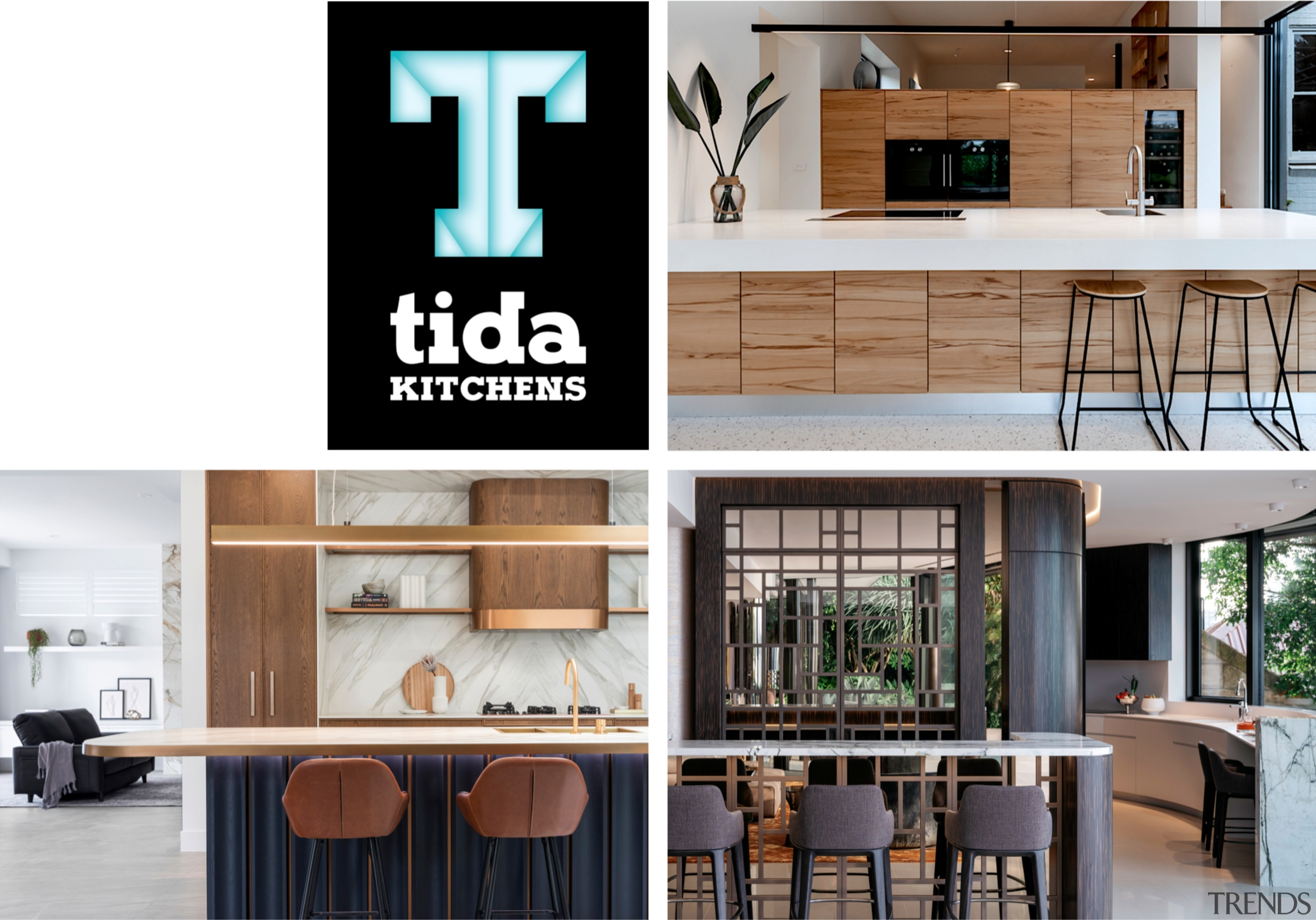 2021 TIDA Australia Kitchens winners -