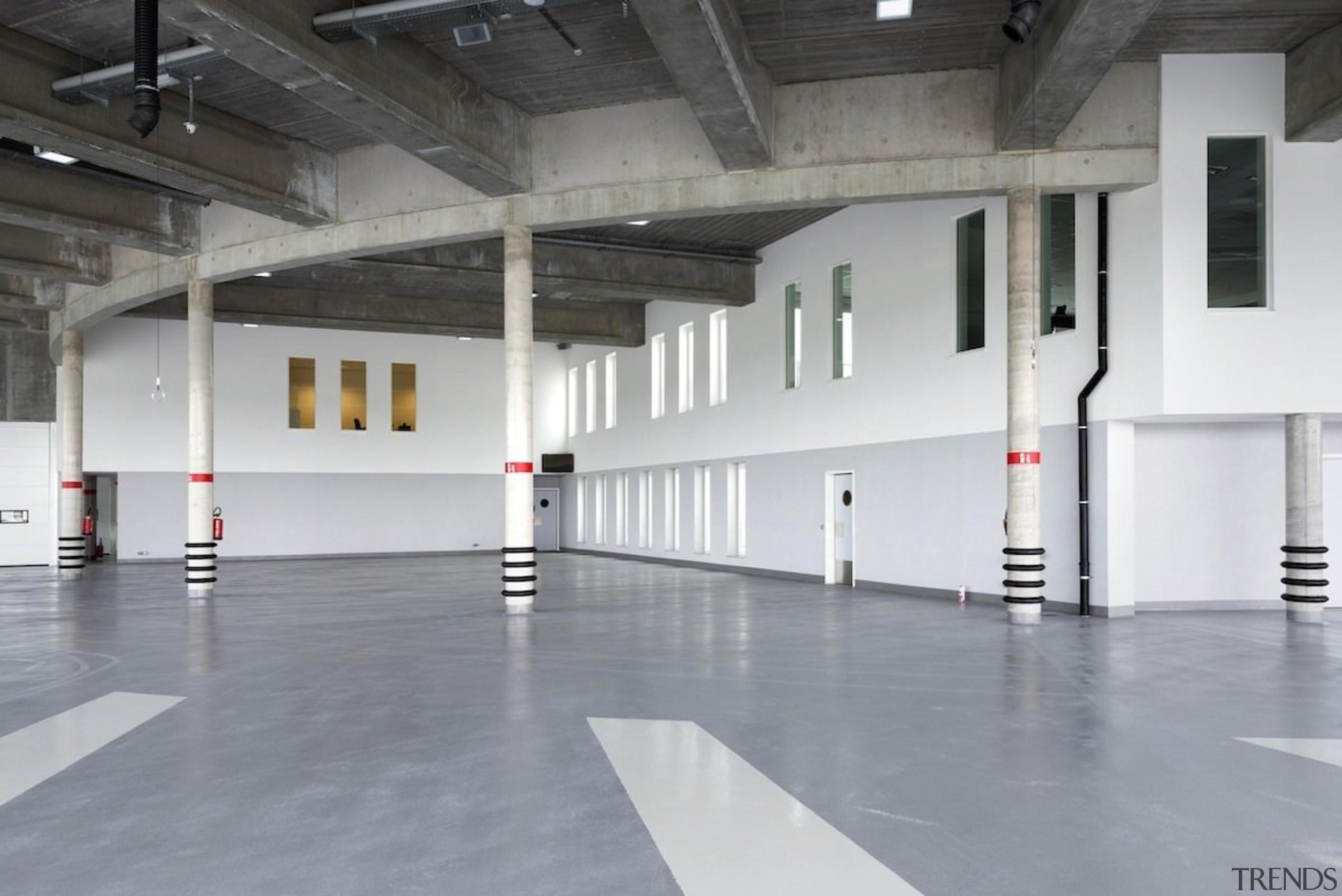 569 firestation - 569 firestation - floor   floor, flooring, structure, gray