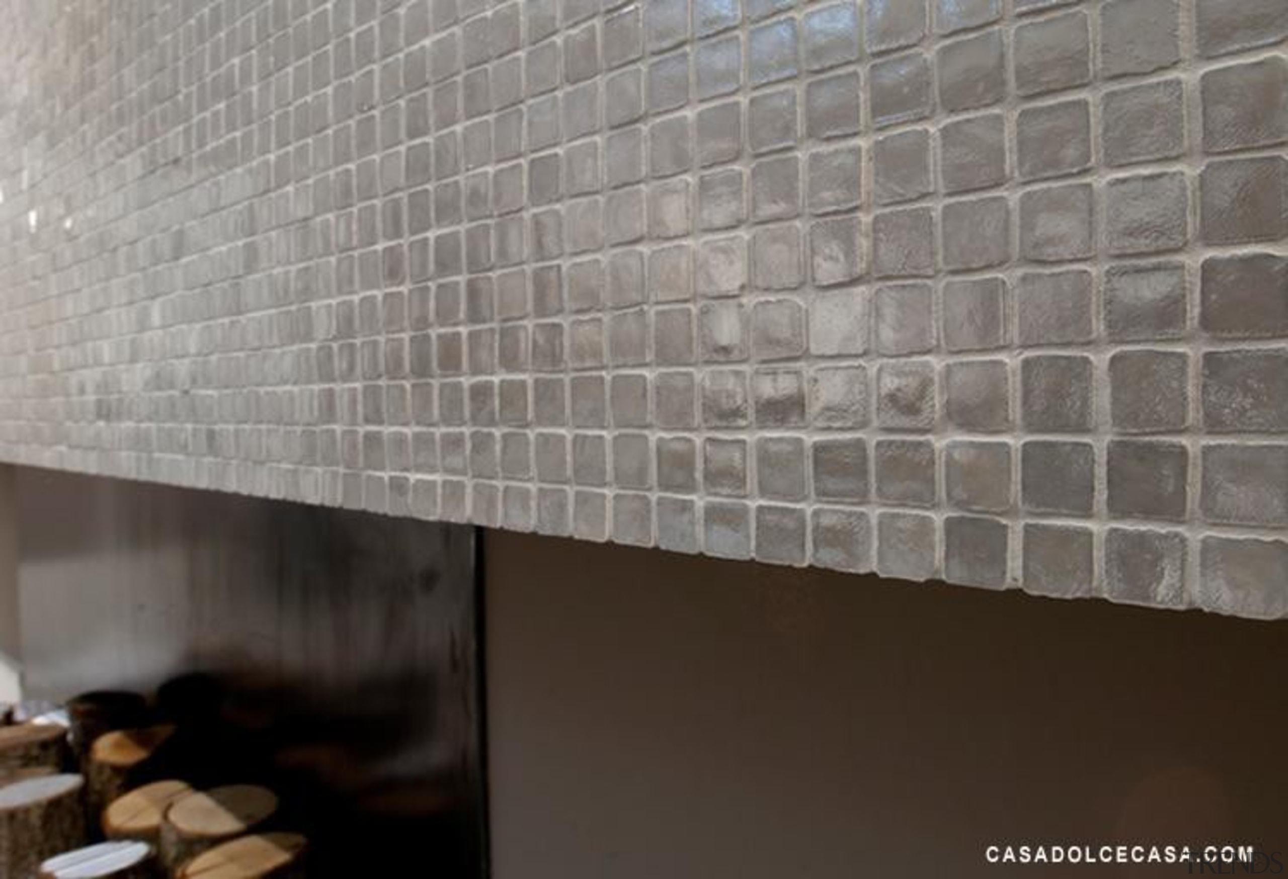 silver lux mosaic tiles - Vetro Mosaics Range daylighting, floor, flooring, tile, wall, gray, black