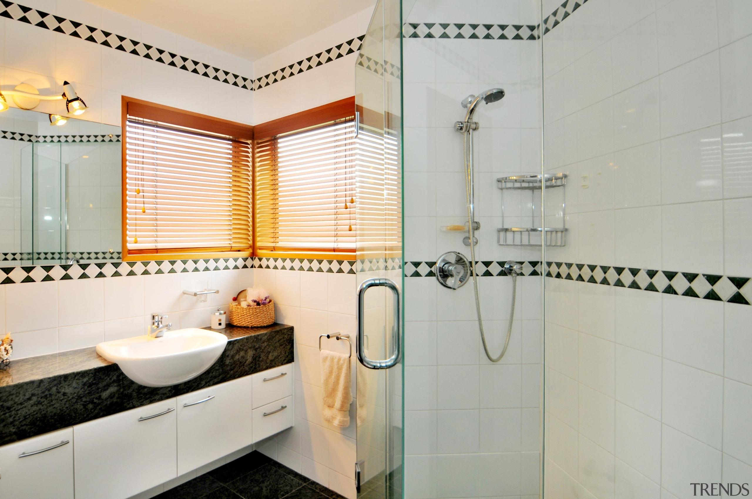 24 bathroom - Bathroom - bathroom   floor bathroom, floor, home, interior design, property, real estate, room, tile, gray