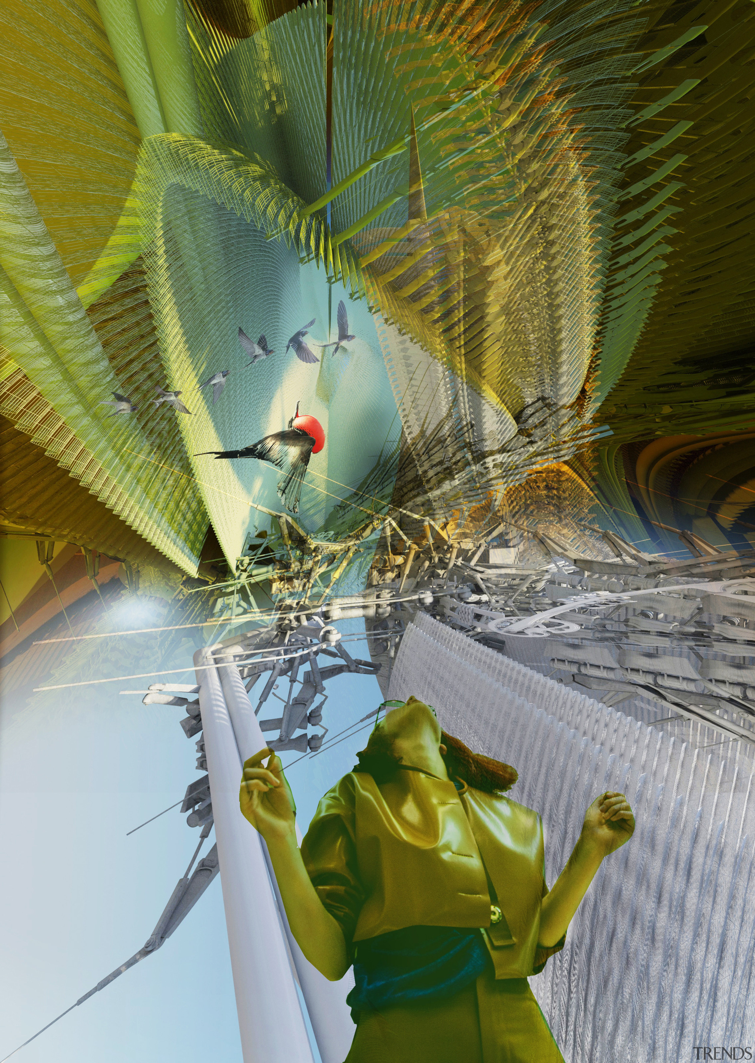 Piezoelectric Loom Aviary will offer an up close