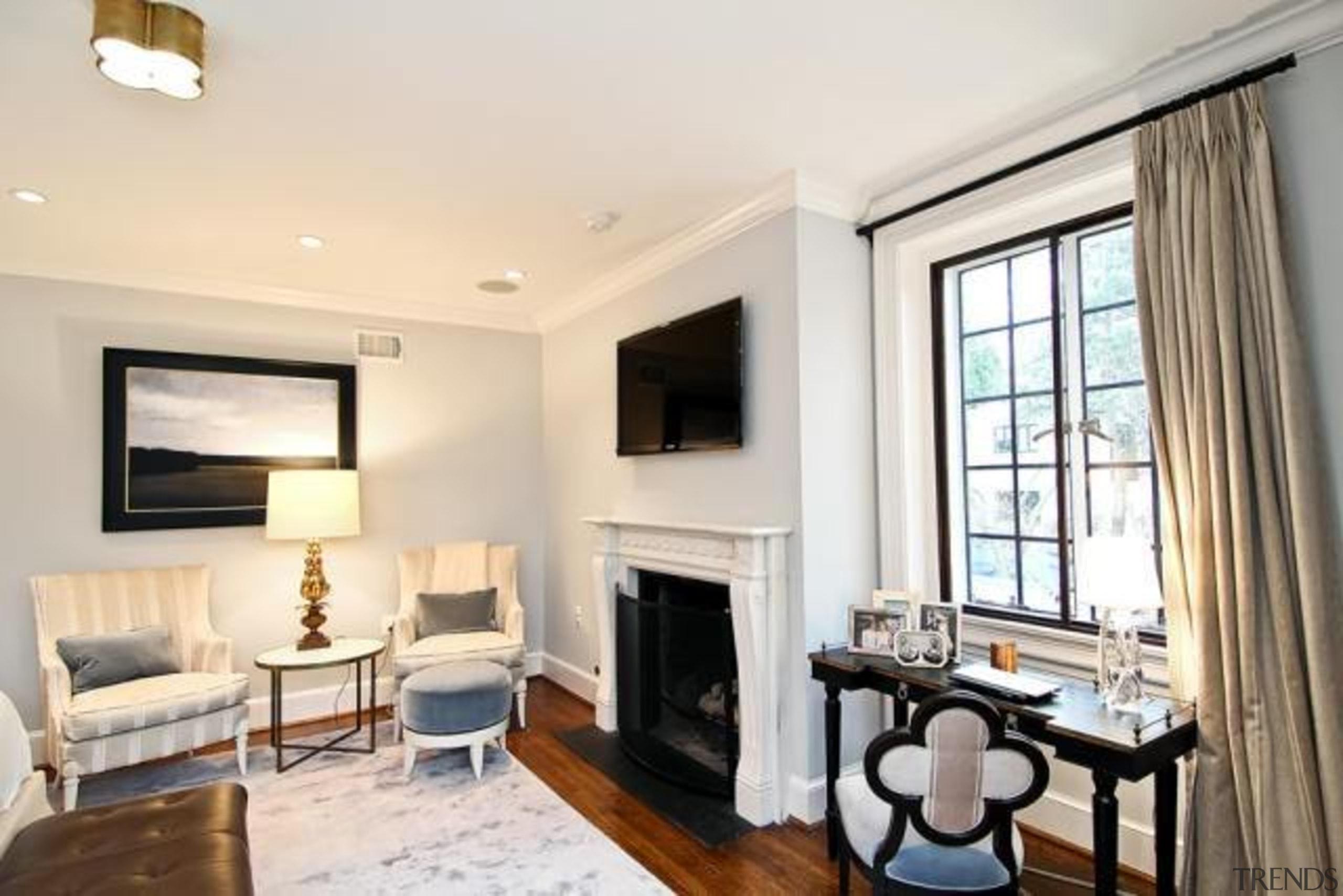 Original story from Trulia home, interior design, living room, property, real estate, room, window, white