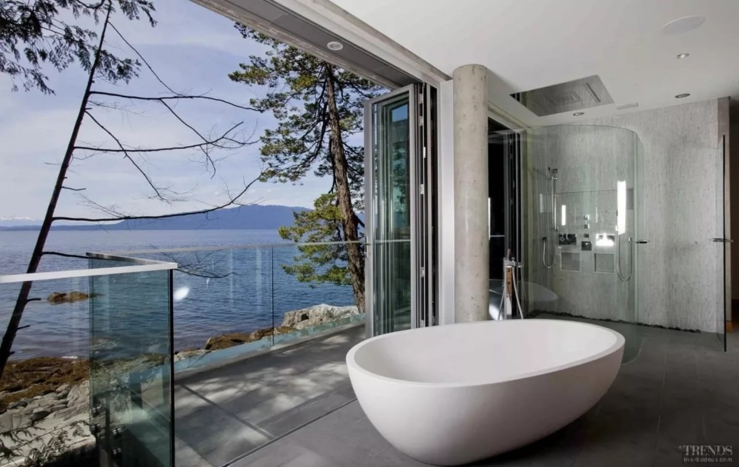 Having trouble choosing a new bathtub for your architecture, bathroom, estate, home, house, interior design, property, real estate, window, gray