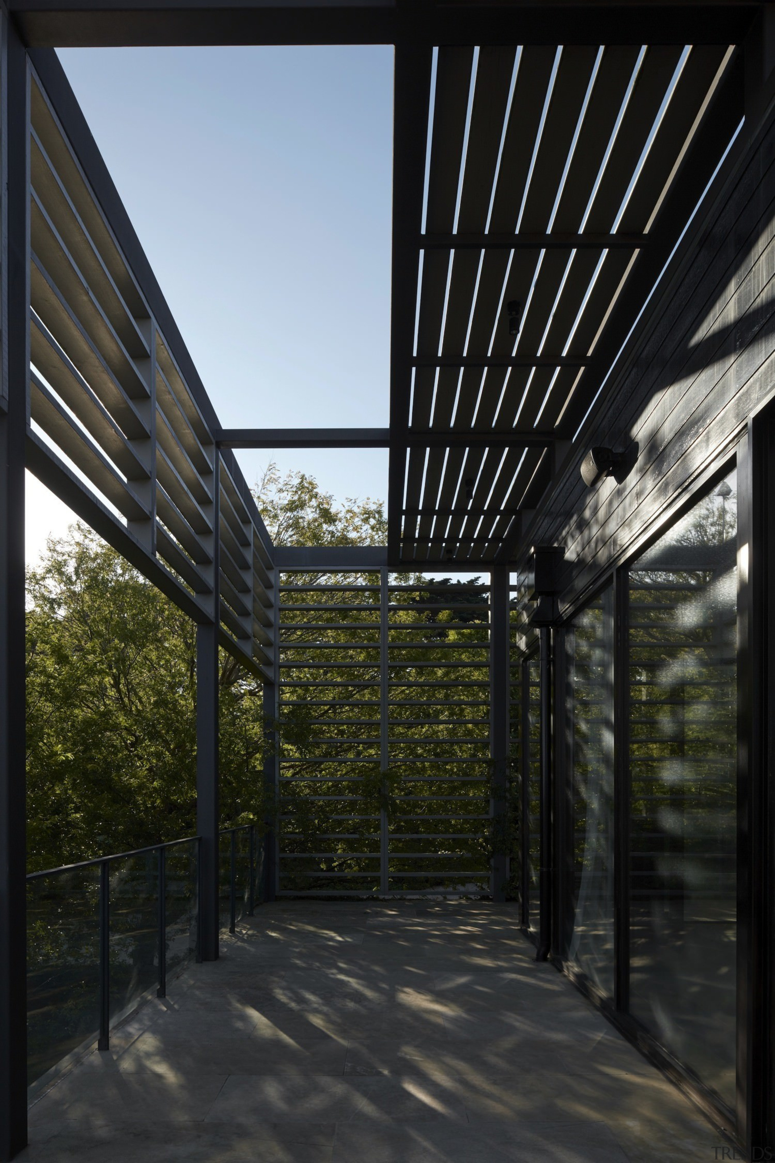 Architect: B.E Architecture architecture, daylighting, house, outdoor structure, roof, sky, structure, black