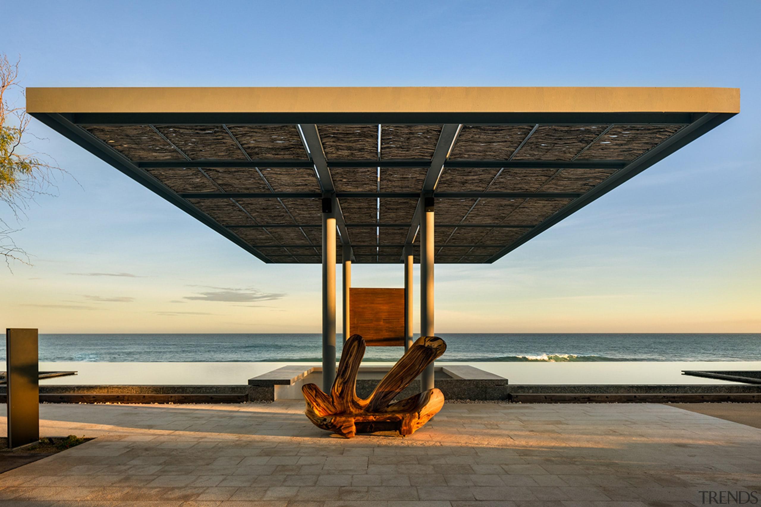 Beachside bar at San José del Cabo Hotel,