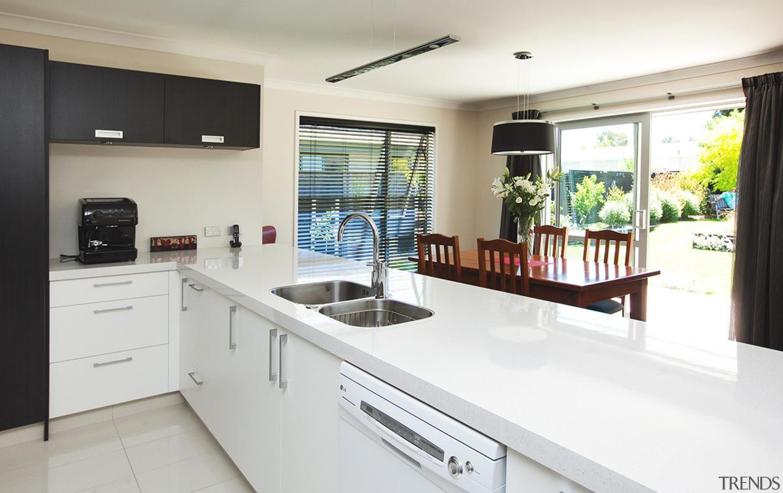 For more information, please visit www.gjgardner.co.nz countertop, cuisine classique, kitchen, property, real estate, white