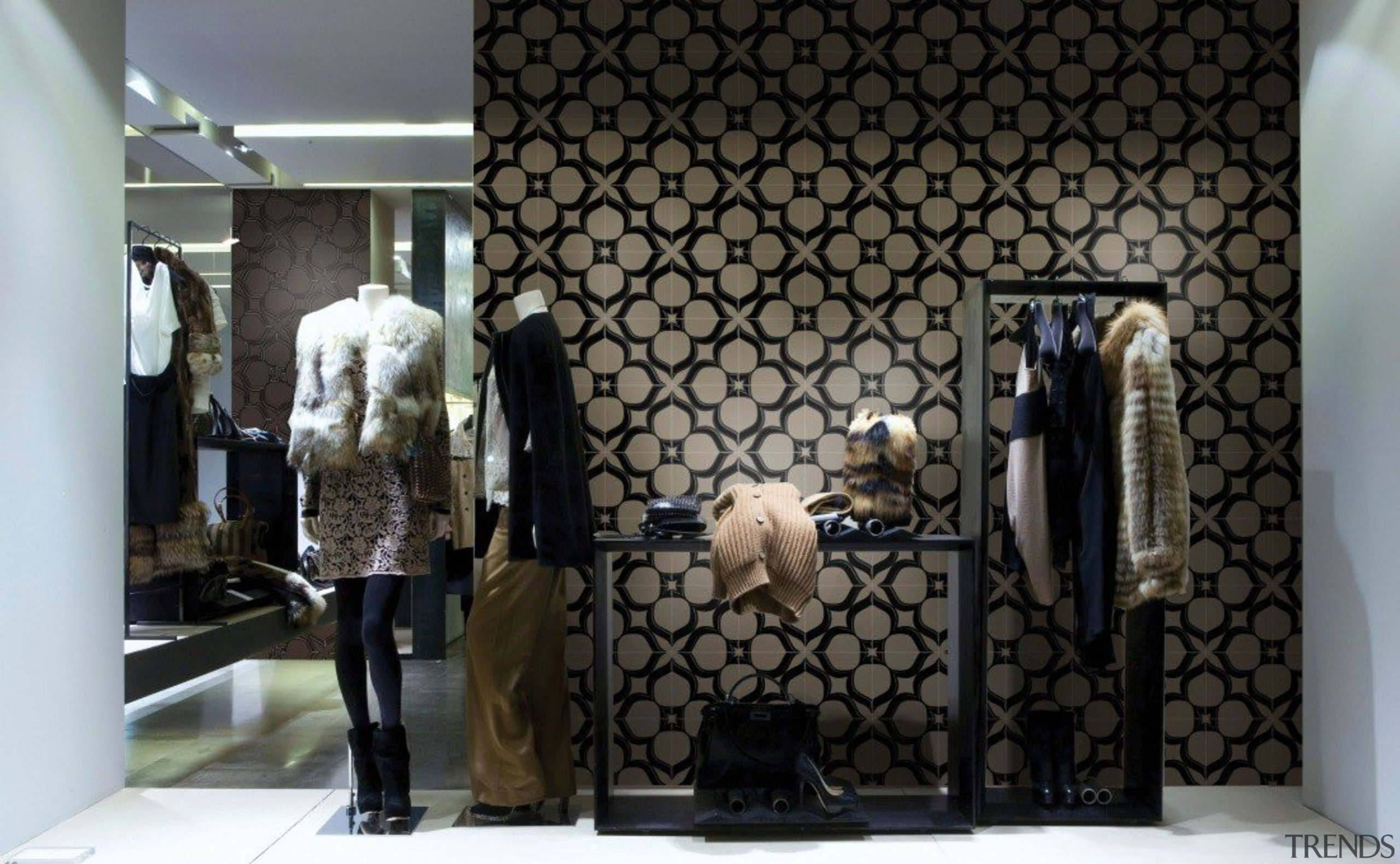 Ambient Touch - Ambient Touch - boutique | boutique, display window, furniture, interior design, room, window, black, gray