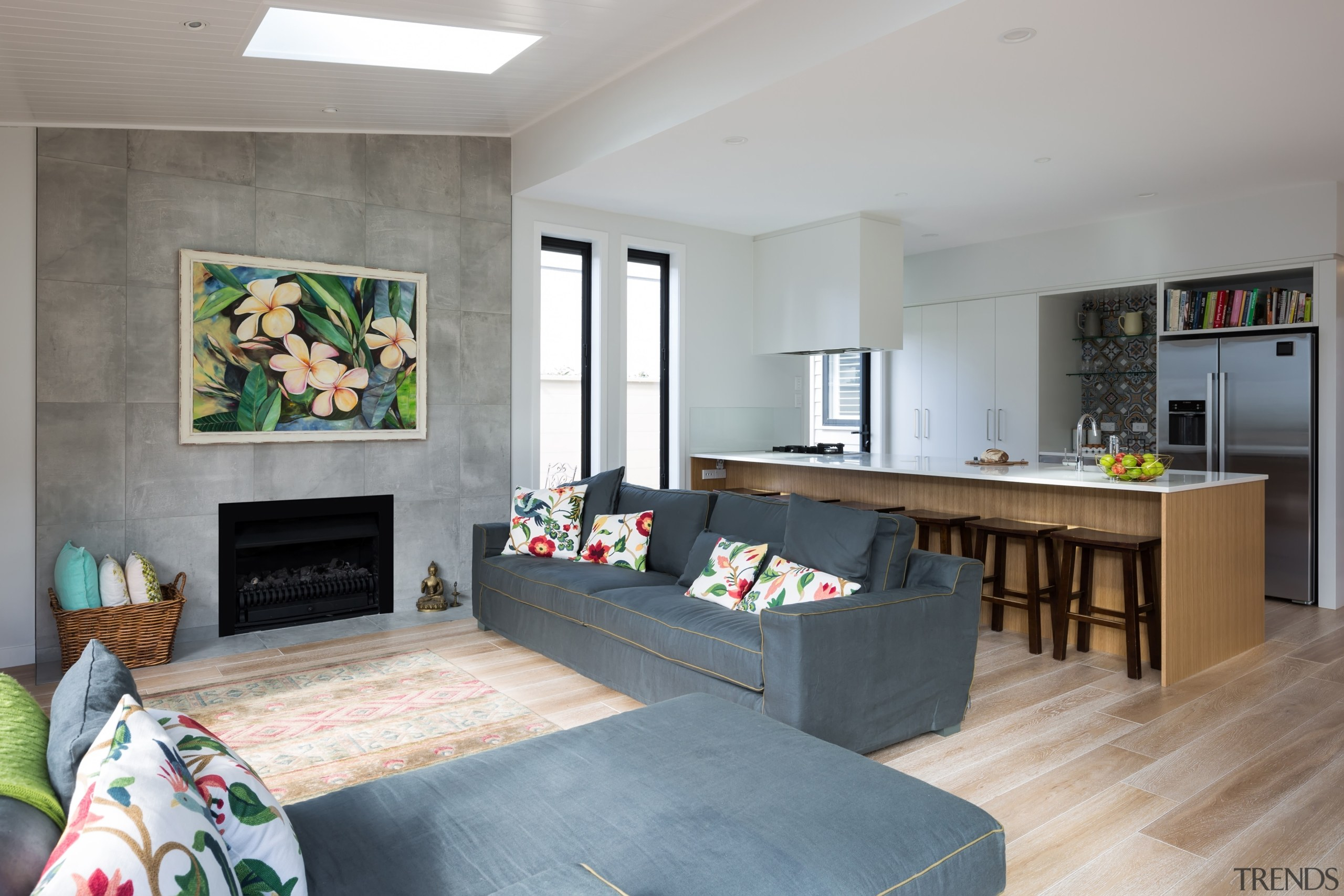 Armadale Road 2 - Armadale Road 2 - architecture, floor, house, interior design, living room, real estate, room, table, gray