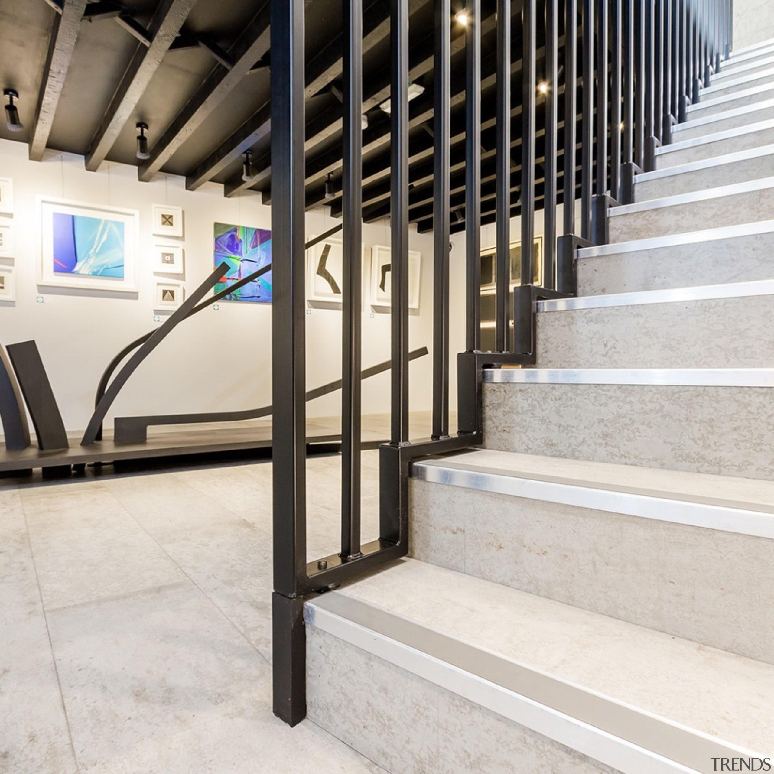 Concreate CF103 5 - Concreate_CF103_5 - floor   floor, flooring, handrail, stairs, white