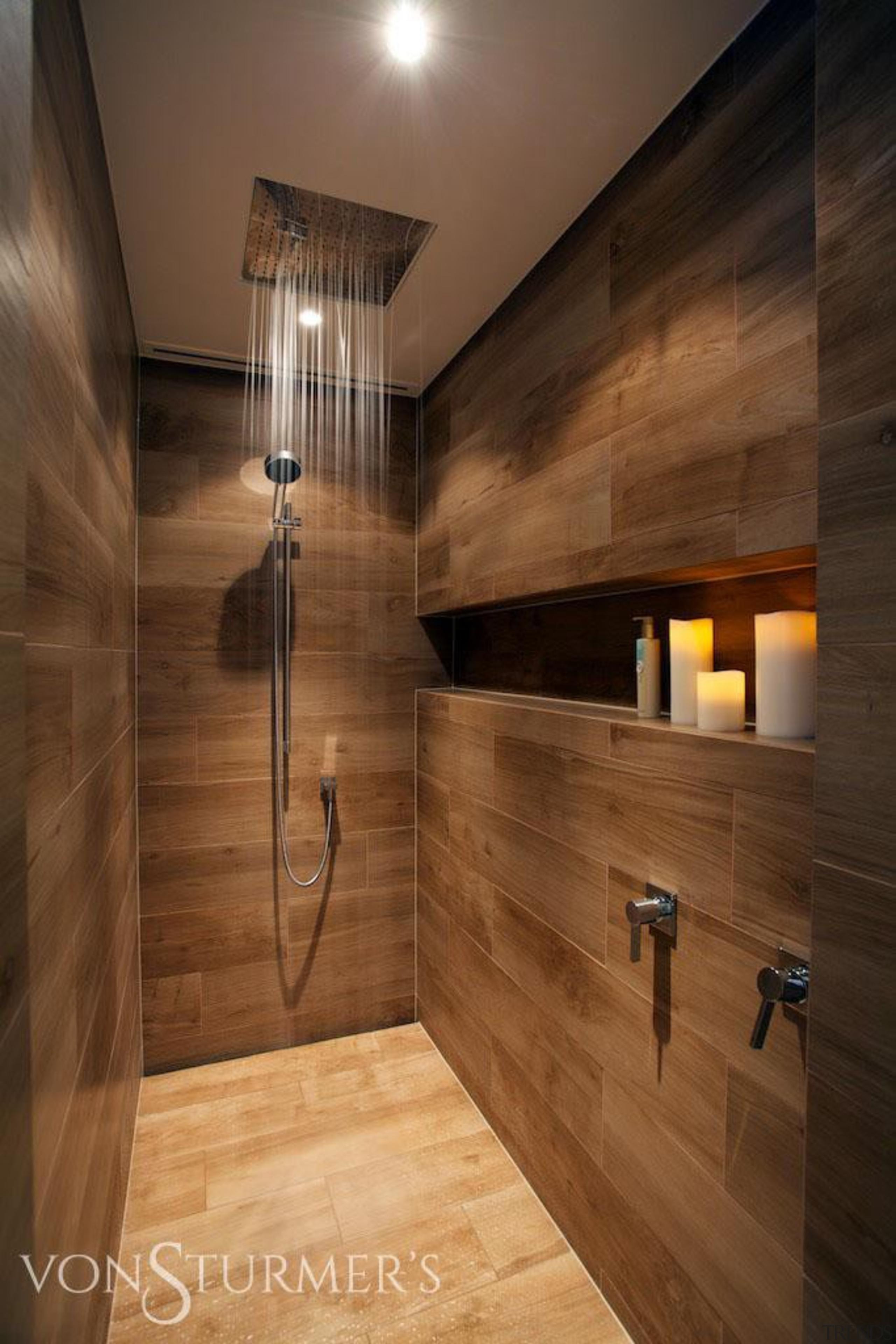 Etic wood look tiles - Etic wood look architecture, bathroom, floor, flooring, hardwood, interior design, lighting, lobby, room, tile, wall, wood, wood flooring, brown