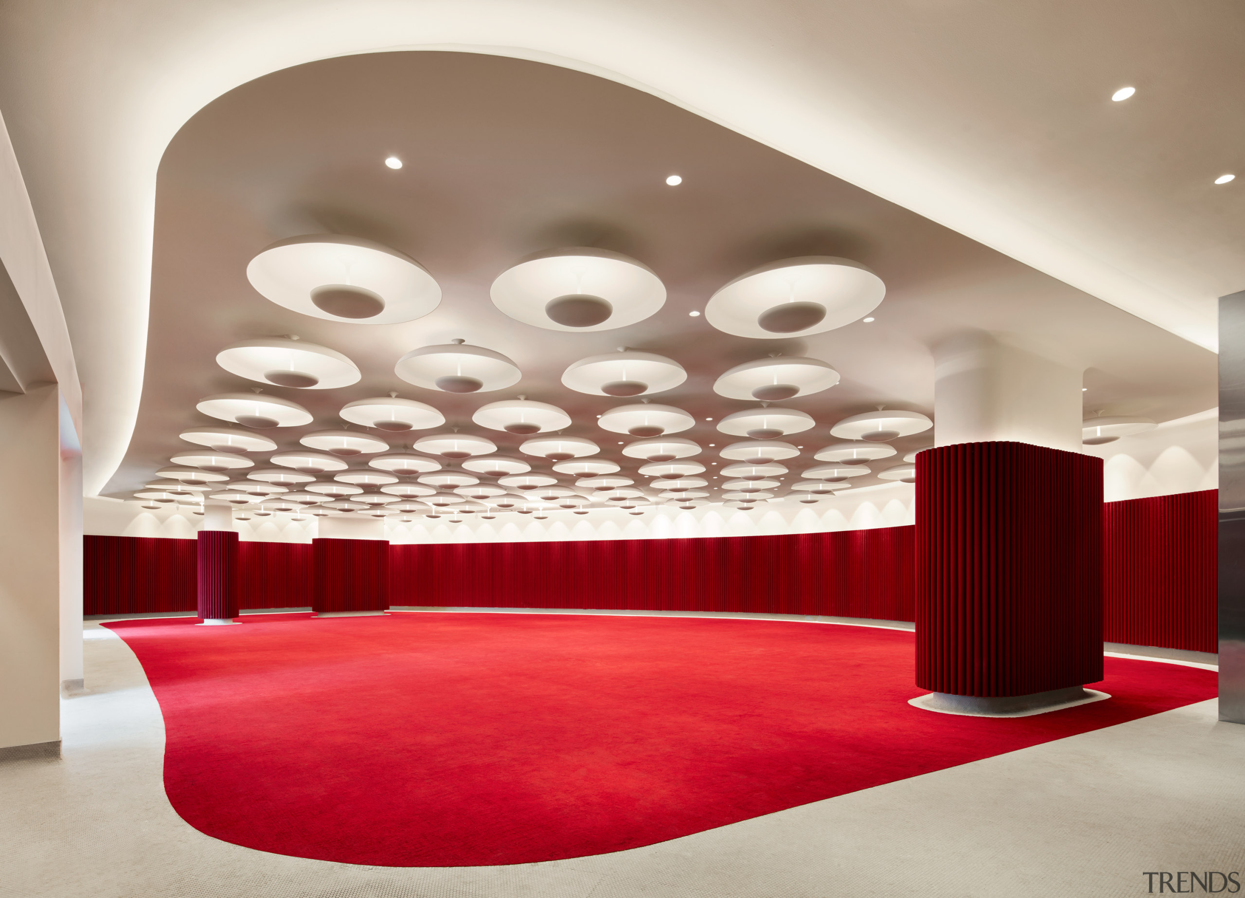 The 1962 Room at the TWA Hotel offers architecture, 1962 room, TWA Hotel, Ballroom