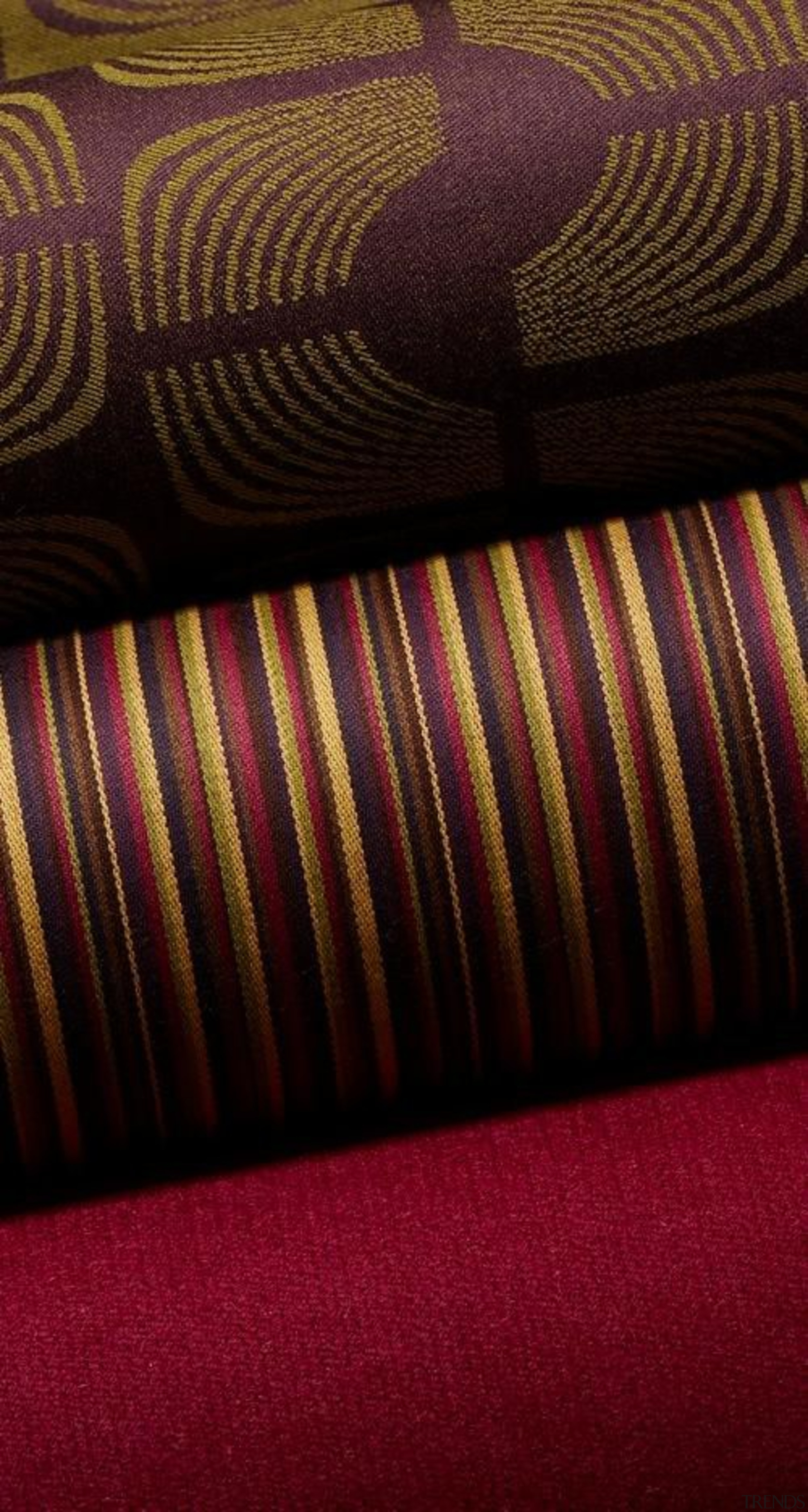 Interchange - Interchange - close up | couch close up, couch, flooring, light, line, magenta, pattern, textile, red