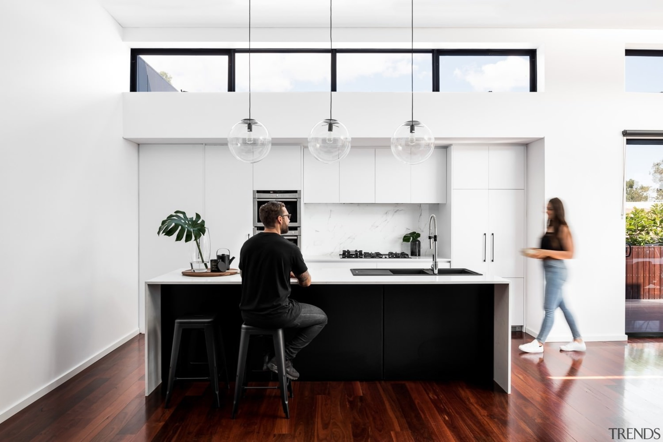 TIDA AU 2017 – Designer renovation winner – desk, furniture, house, interior design, kitchen, office, product design, white