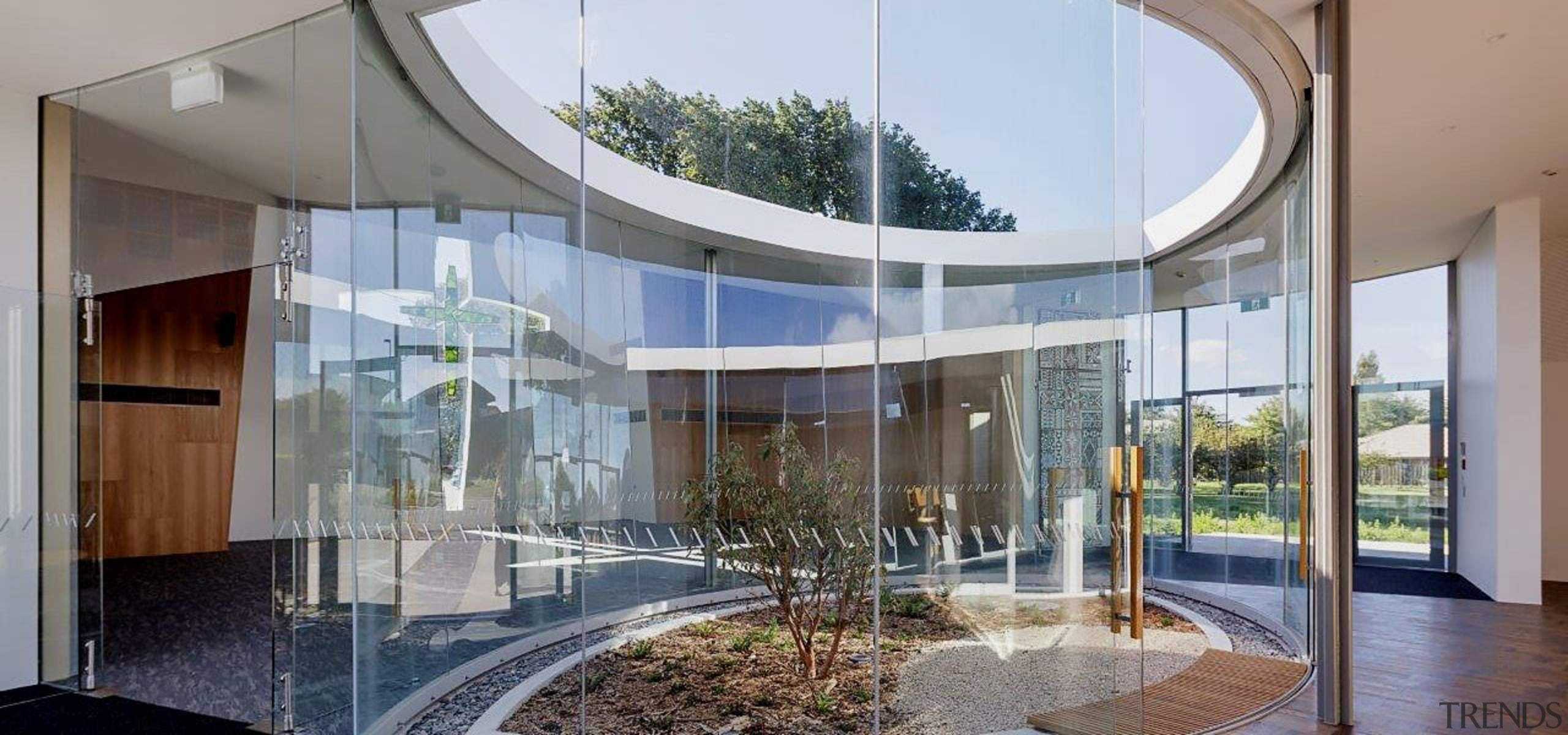 Sisters of Mercy 3 - architecture | building architecture, building, commercial building, facade, glass, headquarters, home, house, interior design, mixed-use, property, real estate, room, shade, gray