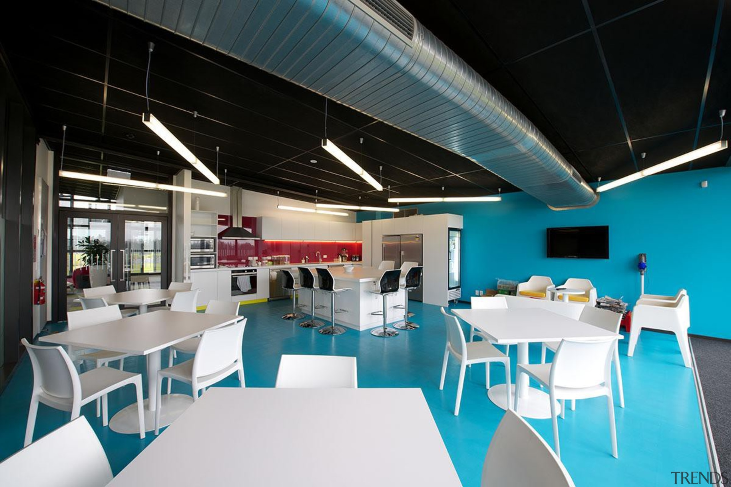 NOMINEEMystery Creek (2 of 3) - Hays Commercial architecture, ceiling, interior design, table, black