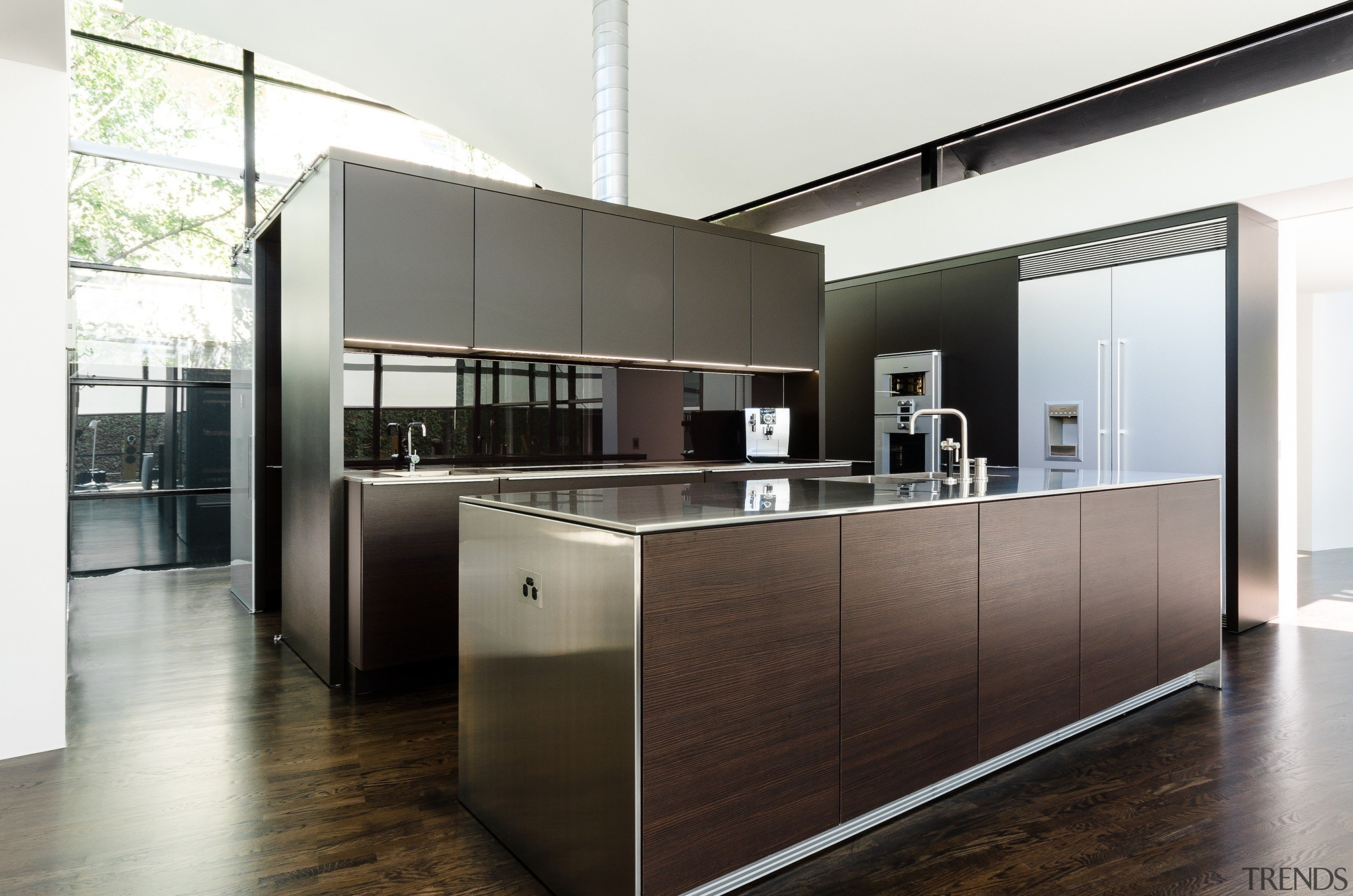 See the winner and all the finalists in cabinetry, countertop, furniture, interior design, kitchen, product design, white, black