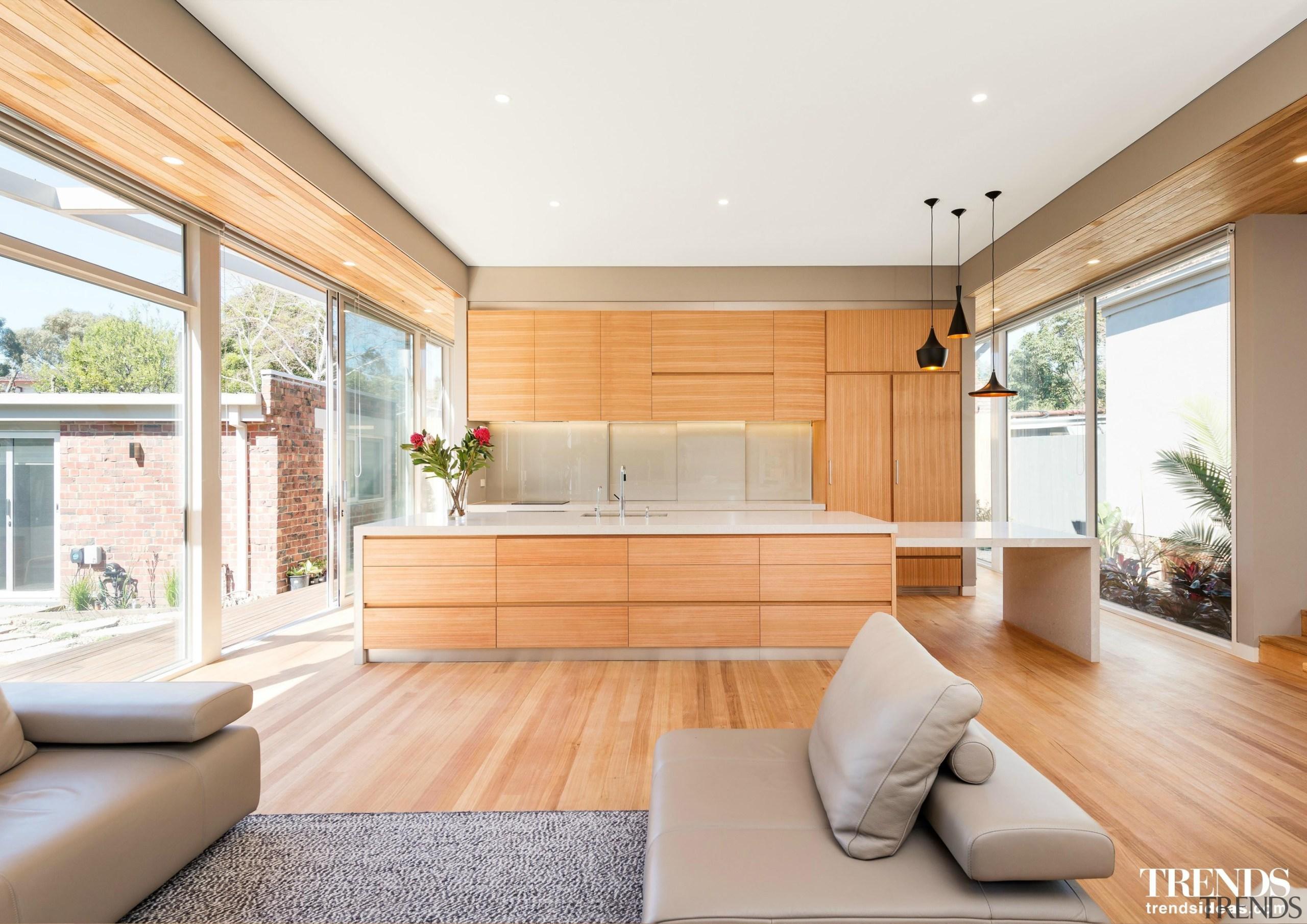 level architekture konstrukt - architecture | ceiling | architecture, ceiling, floor, hardwood, home, house, interior design, living room, property, real estate, window, wood, white, orange