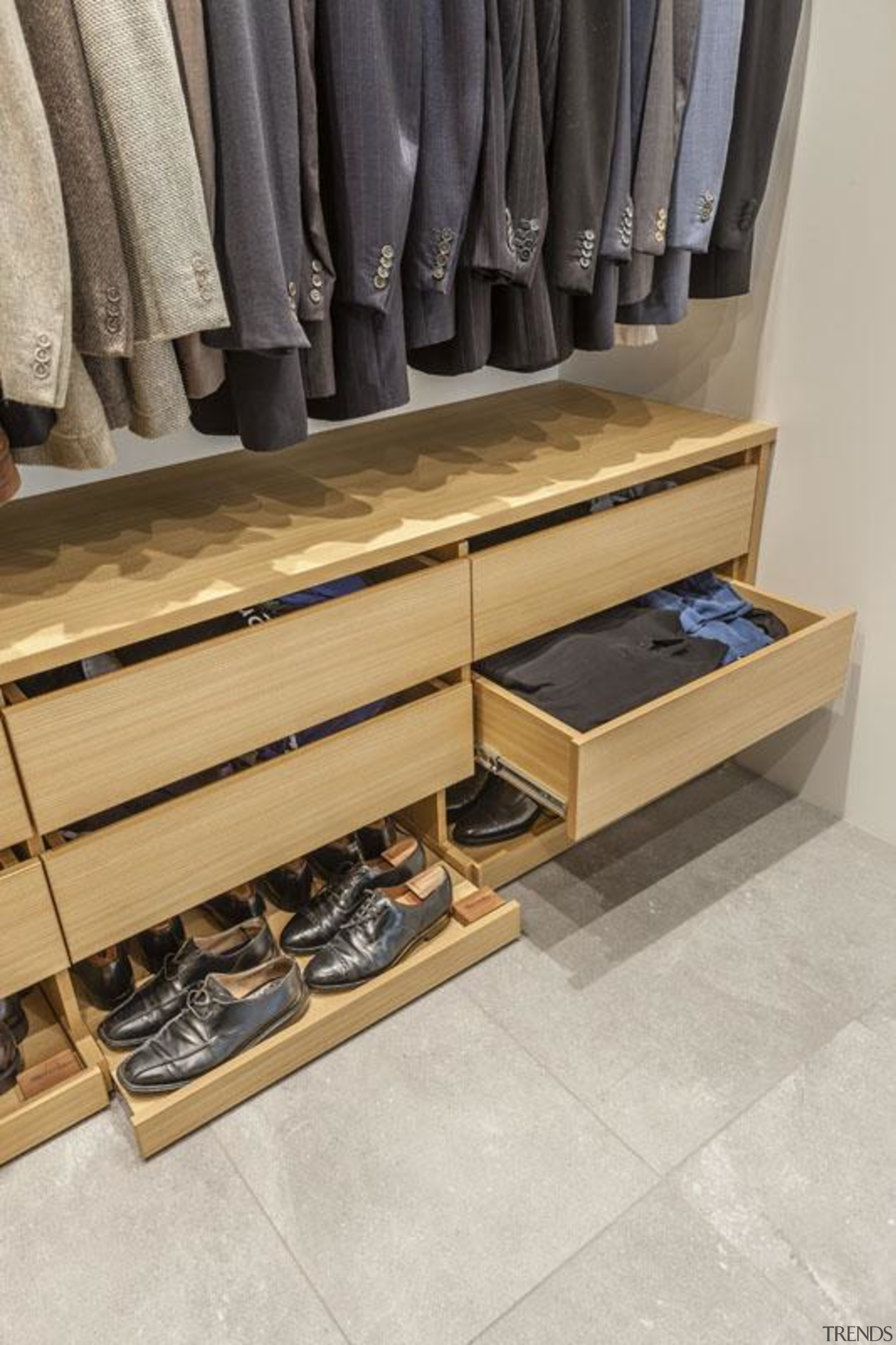 Wardrobe - drawer | floor | flooring | drawer, floor, flooring, furniture, wood, gray
