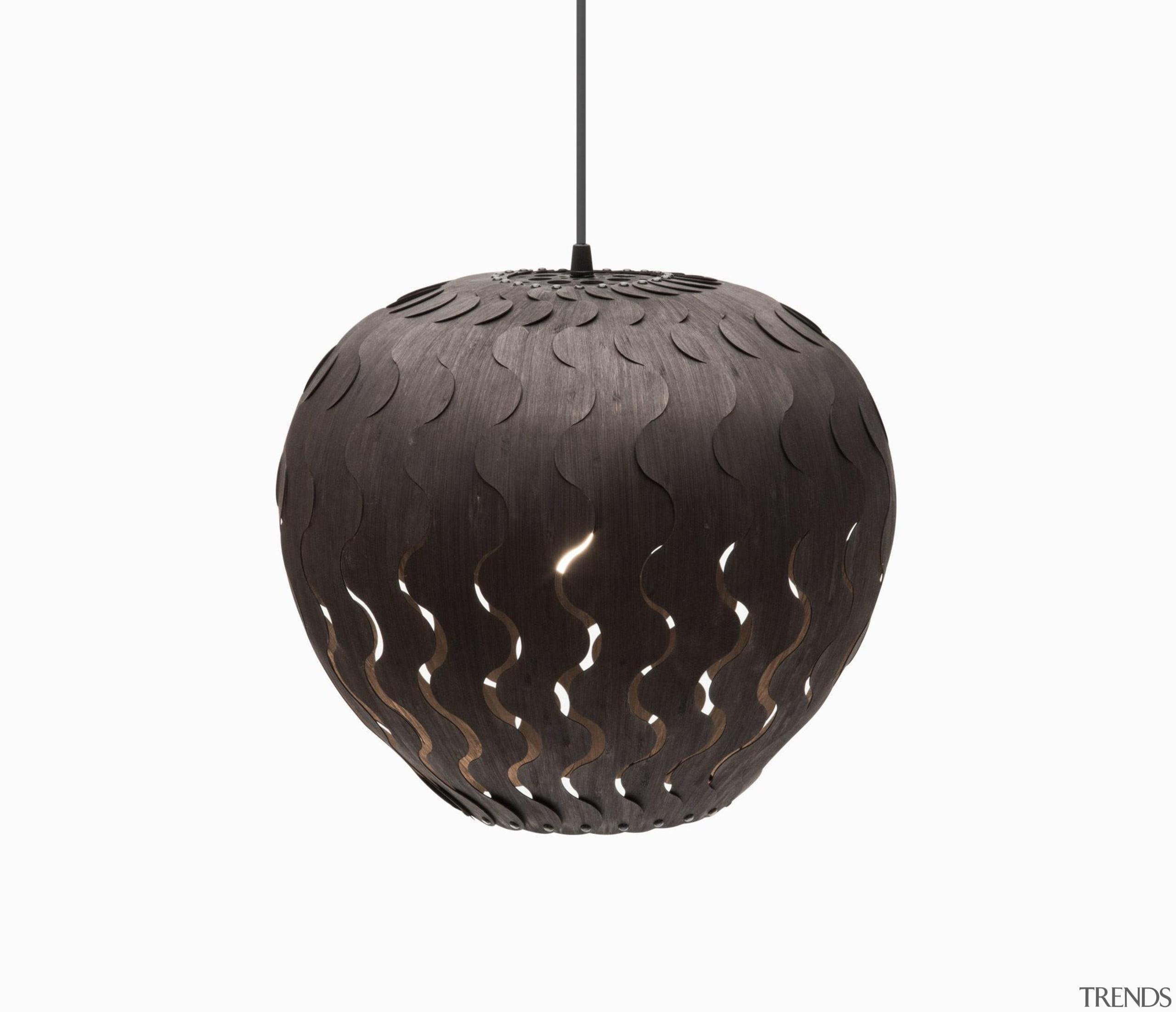 These arresting lights by designer David Trubridge make ceiling fixture, lamp, light fixture, lighting, product design, white