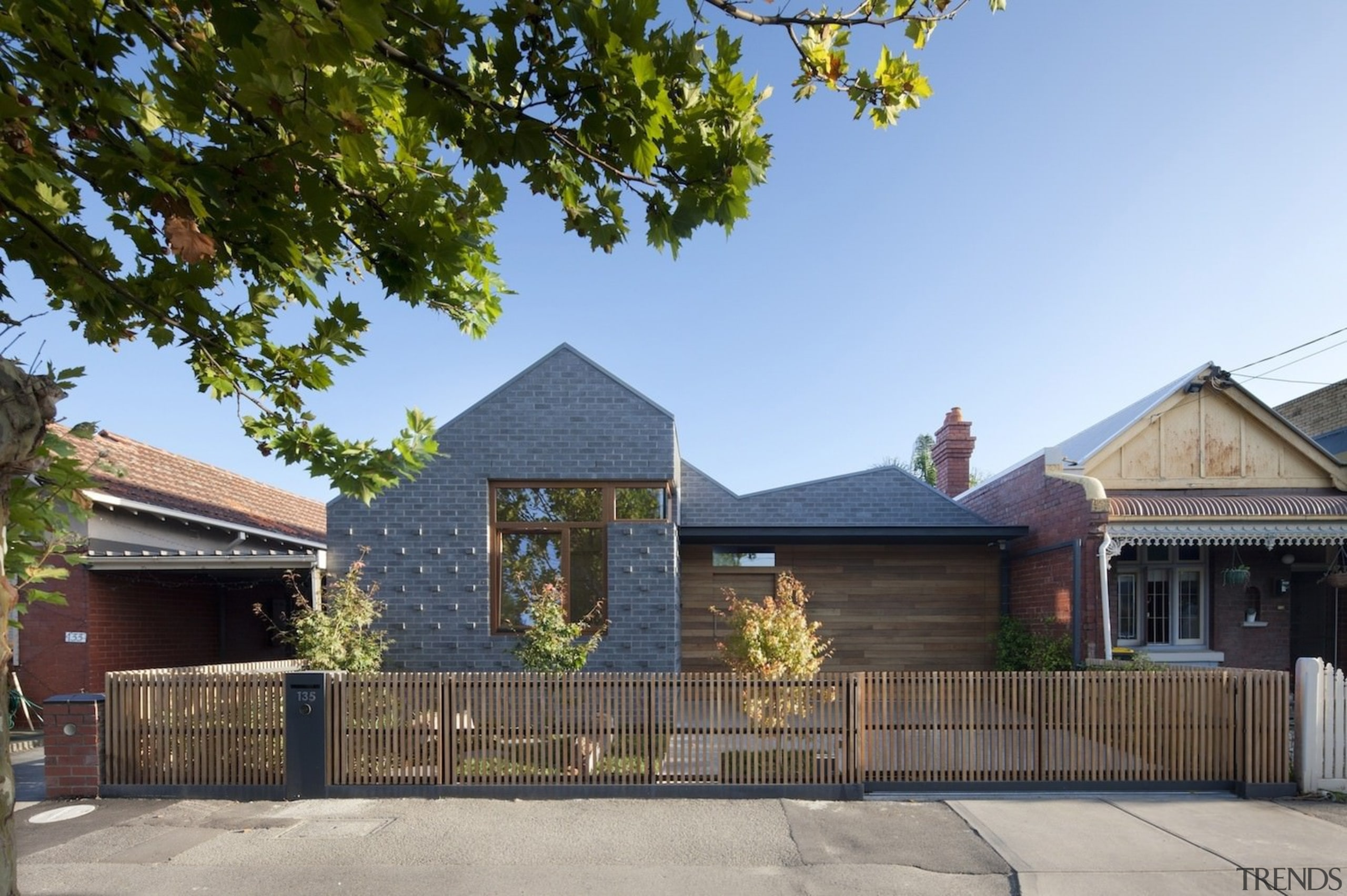 Architect: Steffen Welsch ArchitectsPhotography by Shannon McGrath cottage, estate, facade, home, house, property, real estate, residential area, roof, teal