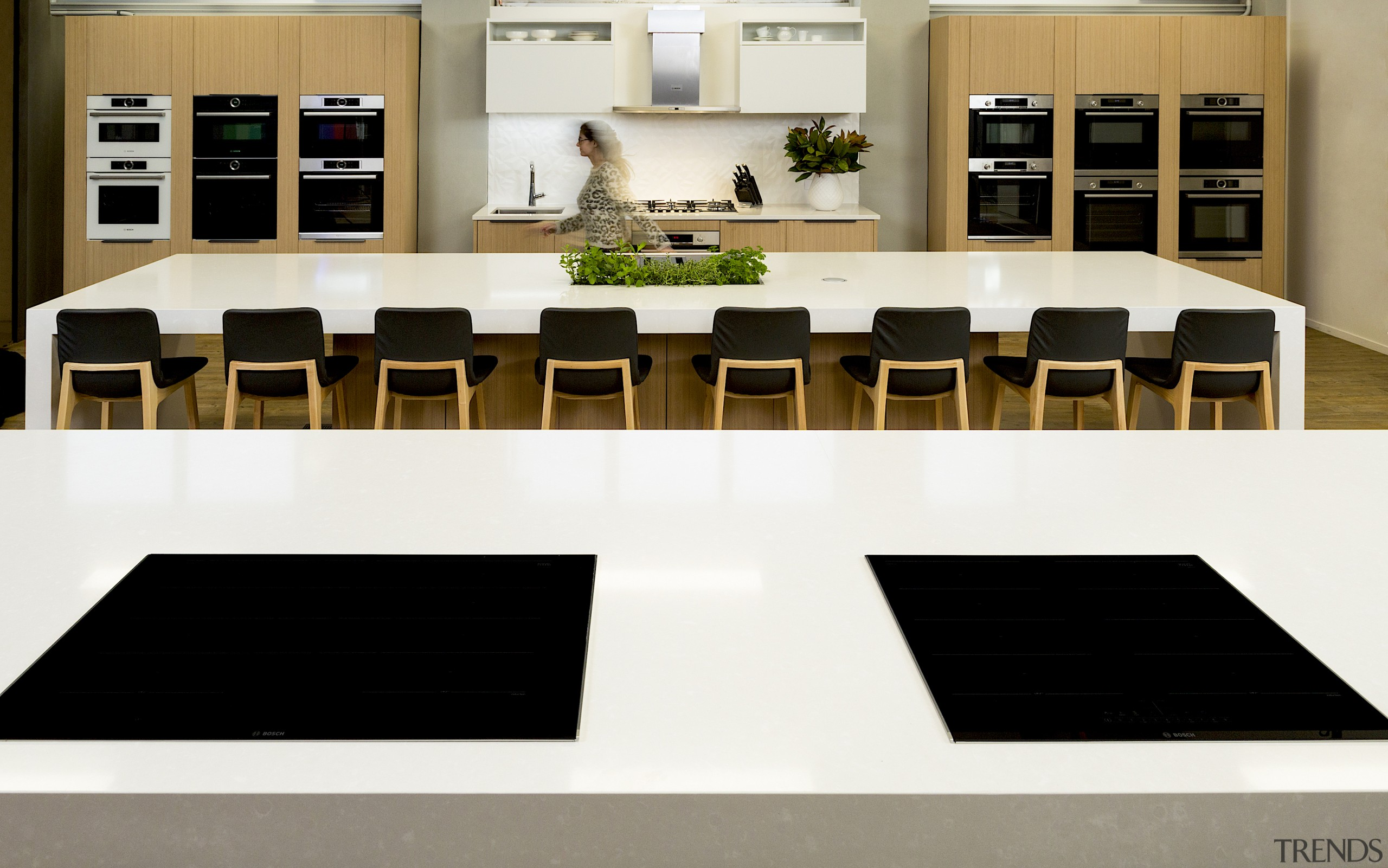 Crisp and uncluttered – this is the immaculate white