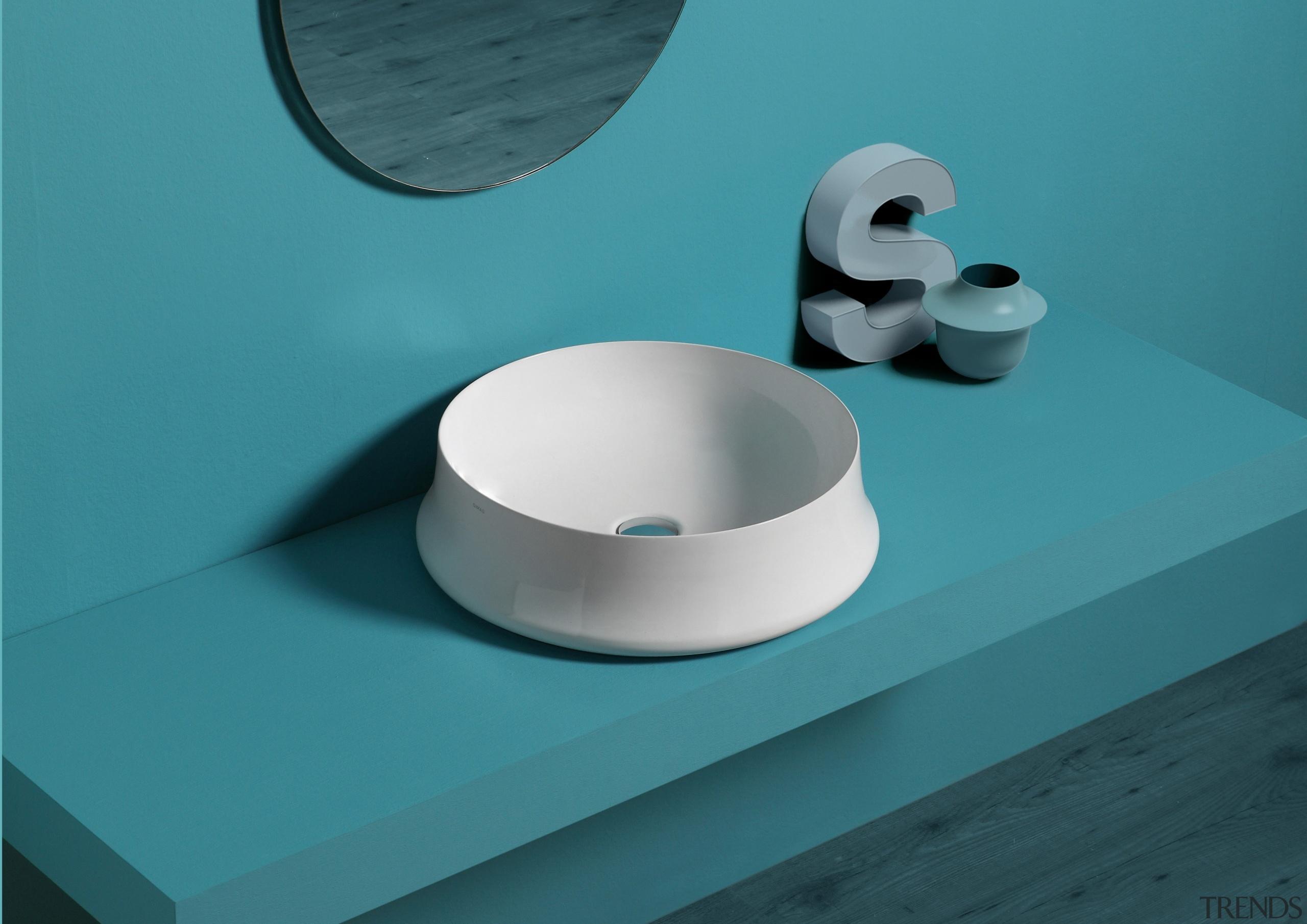 Trenz 03 - ceramic | plumbing fixture | ceramic, plumbing fixture, product, table, tap, teal