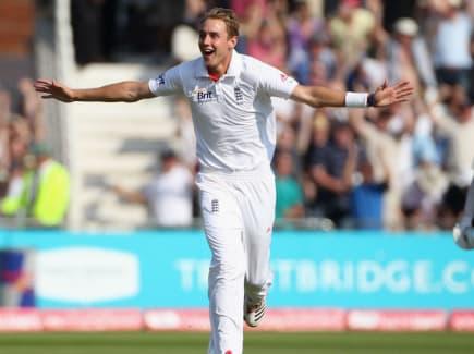 Stuart Broad India hat-trick at TB