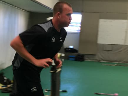 Luke Fletcher bowling comeback