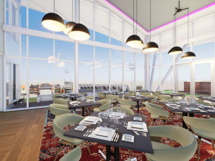 Dining facility artist's impression