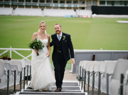 Wedding at Trent Bridge