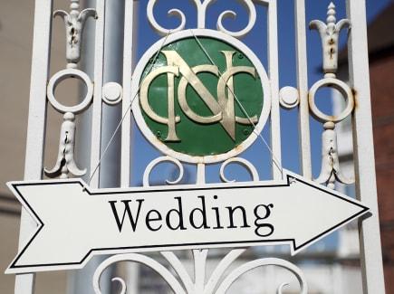 Weddings at Trent Bridge