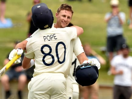 Joe Root; Ollie Pope