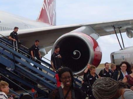 barbados plane