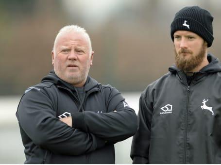Andy Pick with Ross Herridge