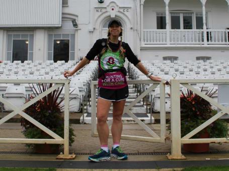 Nicola Love marathon runner