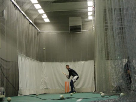 Alex Hales batting nets