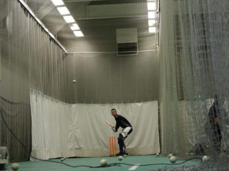 Alex Hales batting nets